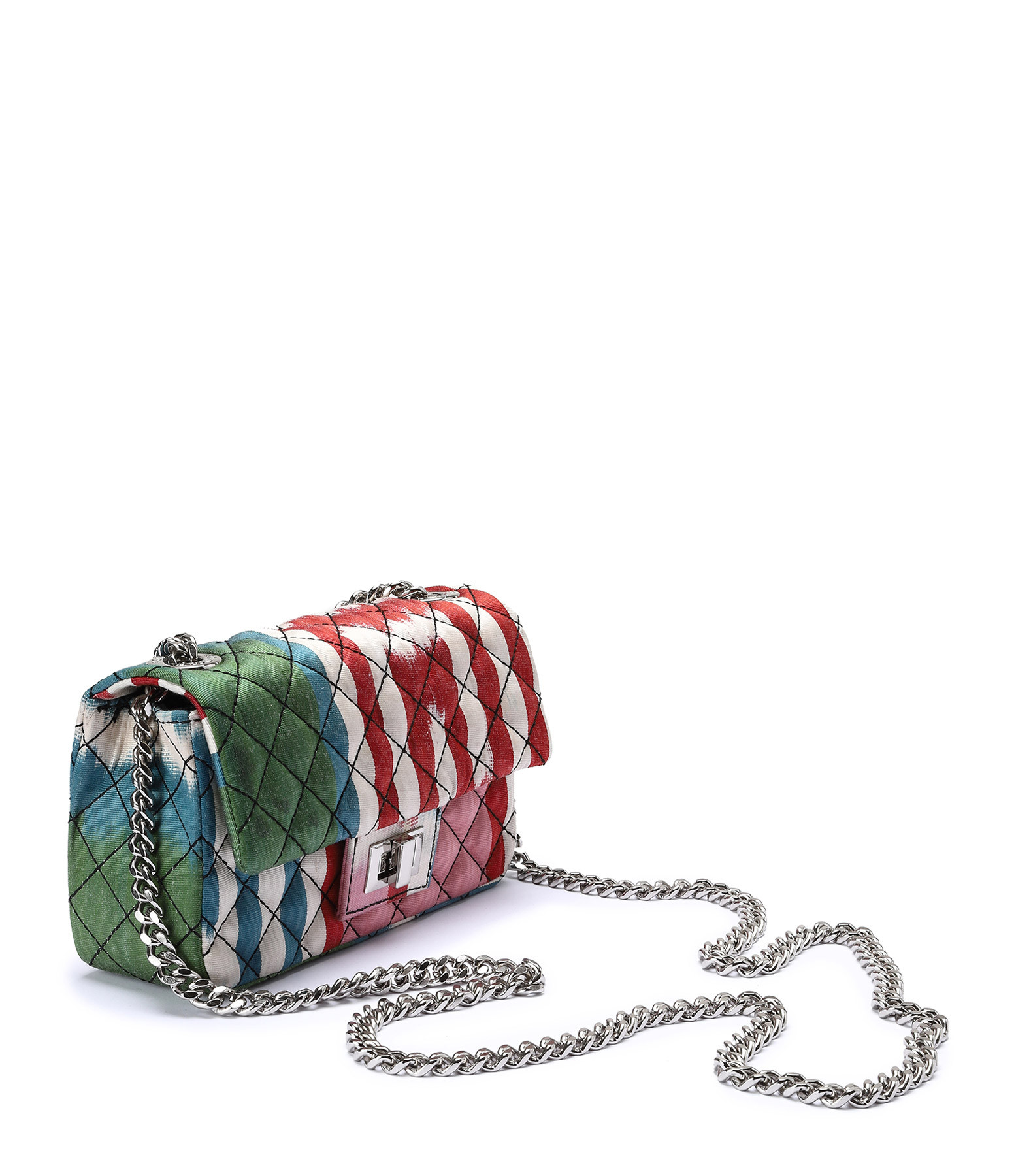 ROUGH STUDIOS - Sac Bandita Mini Soie Multicolore