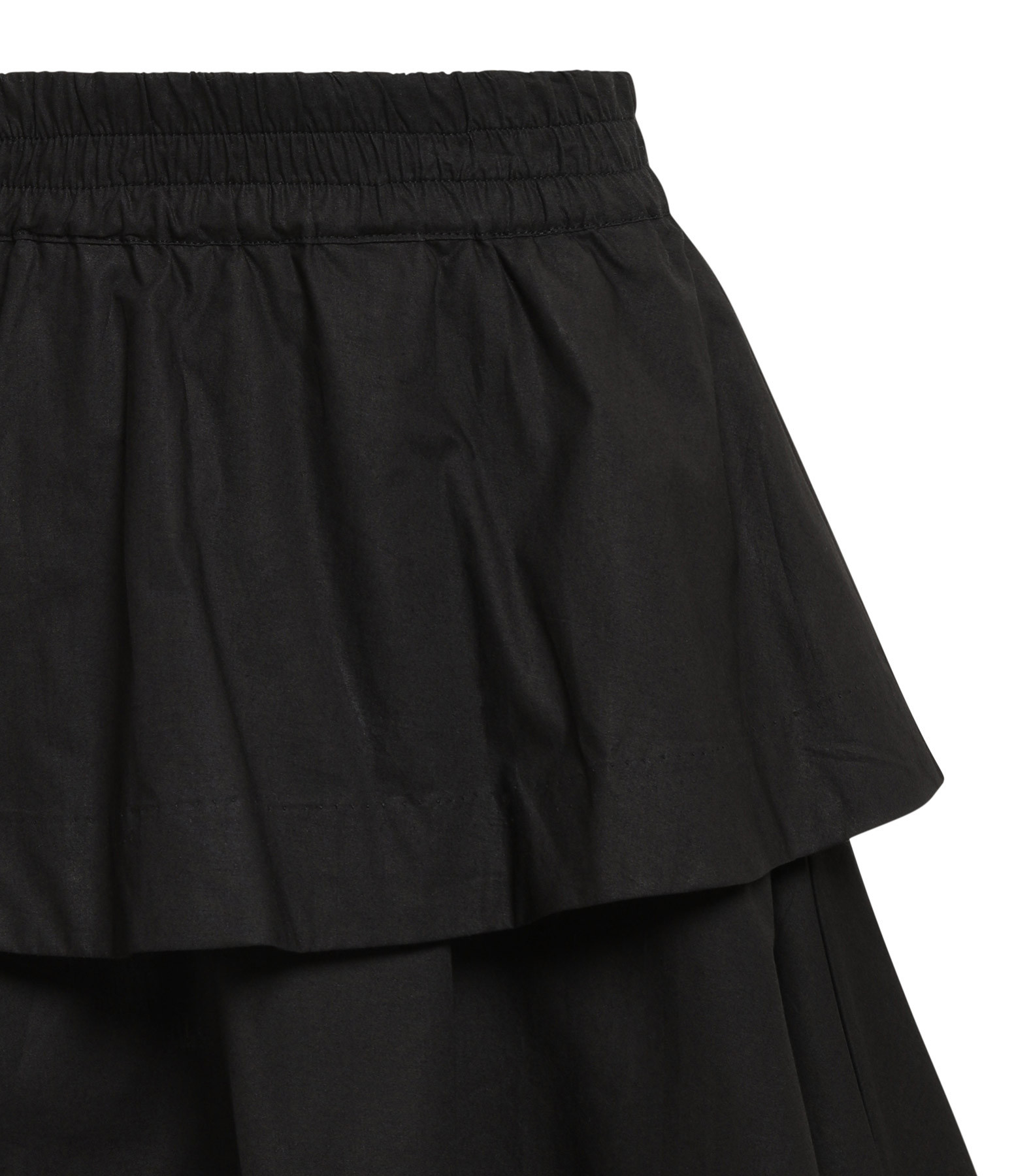 ROUGH STUDIOS - Jupe Lacey Coton Noir