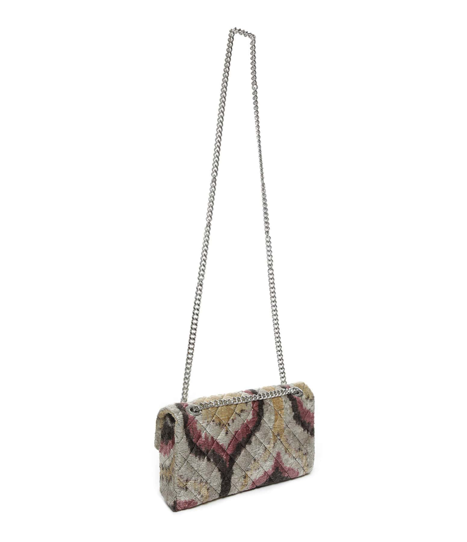 ROUGH STUDIOS - Sac Bandita Velours Soie Multicolore