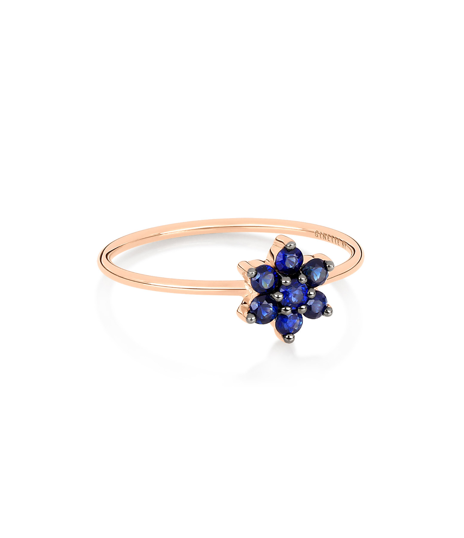GINETTE NY - Bague Star Saphirs Or Rose