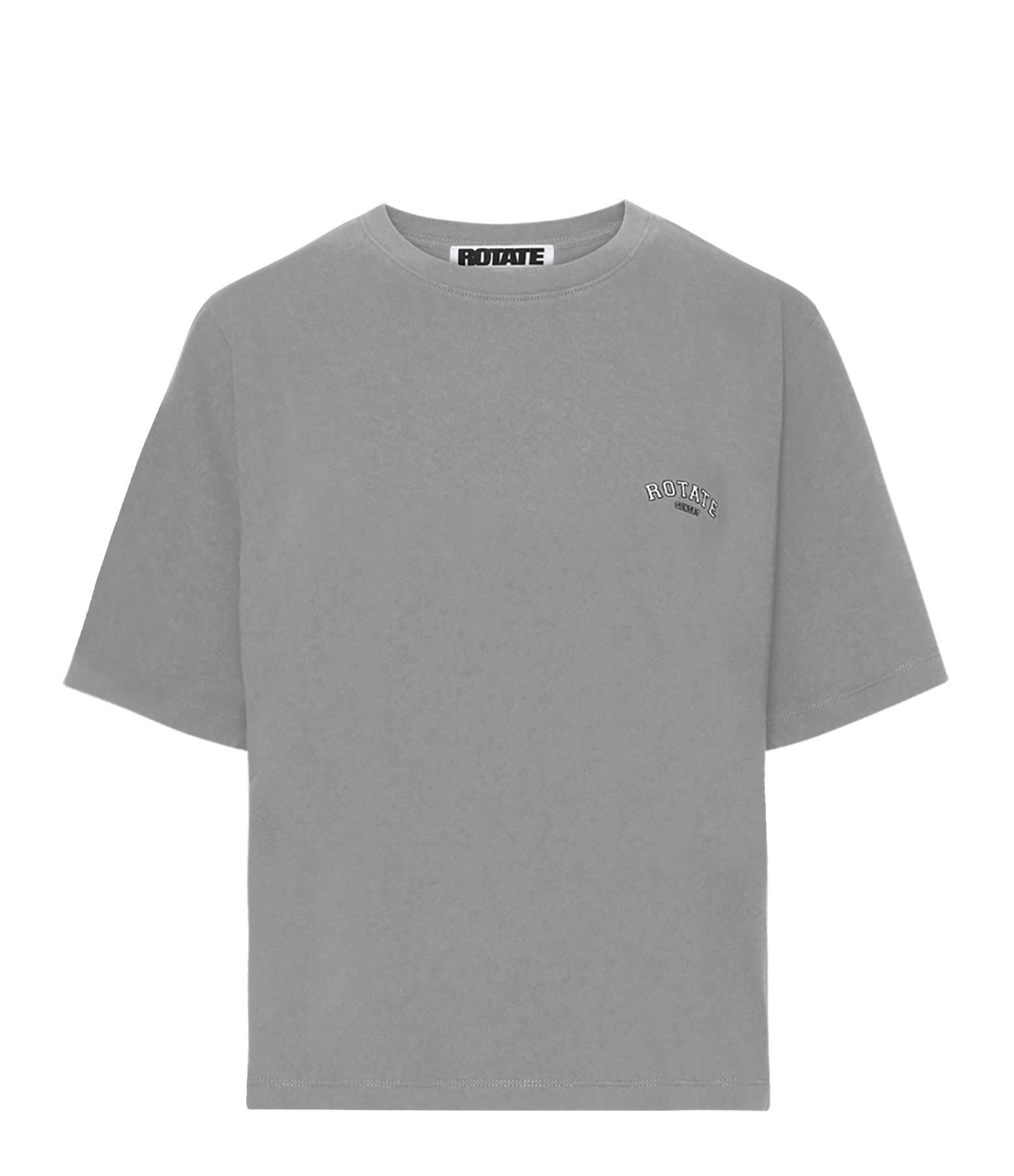 ROTATE - Tee-shirt Aster Coton Biologique Gris, Capsule Sun