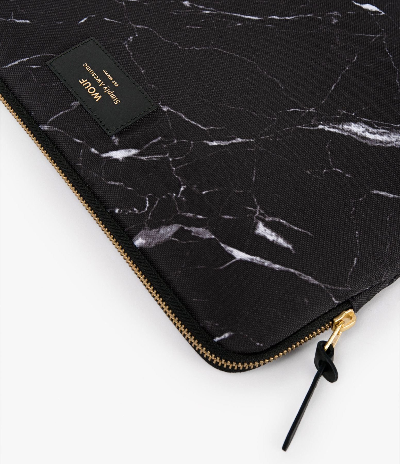 WOUF - Housse 15'' Black Marble