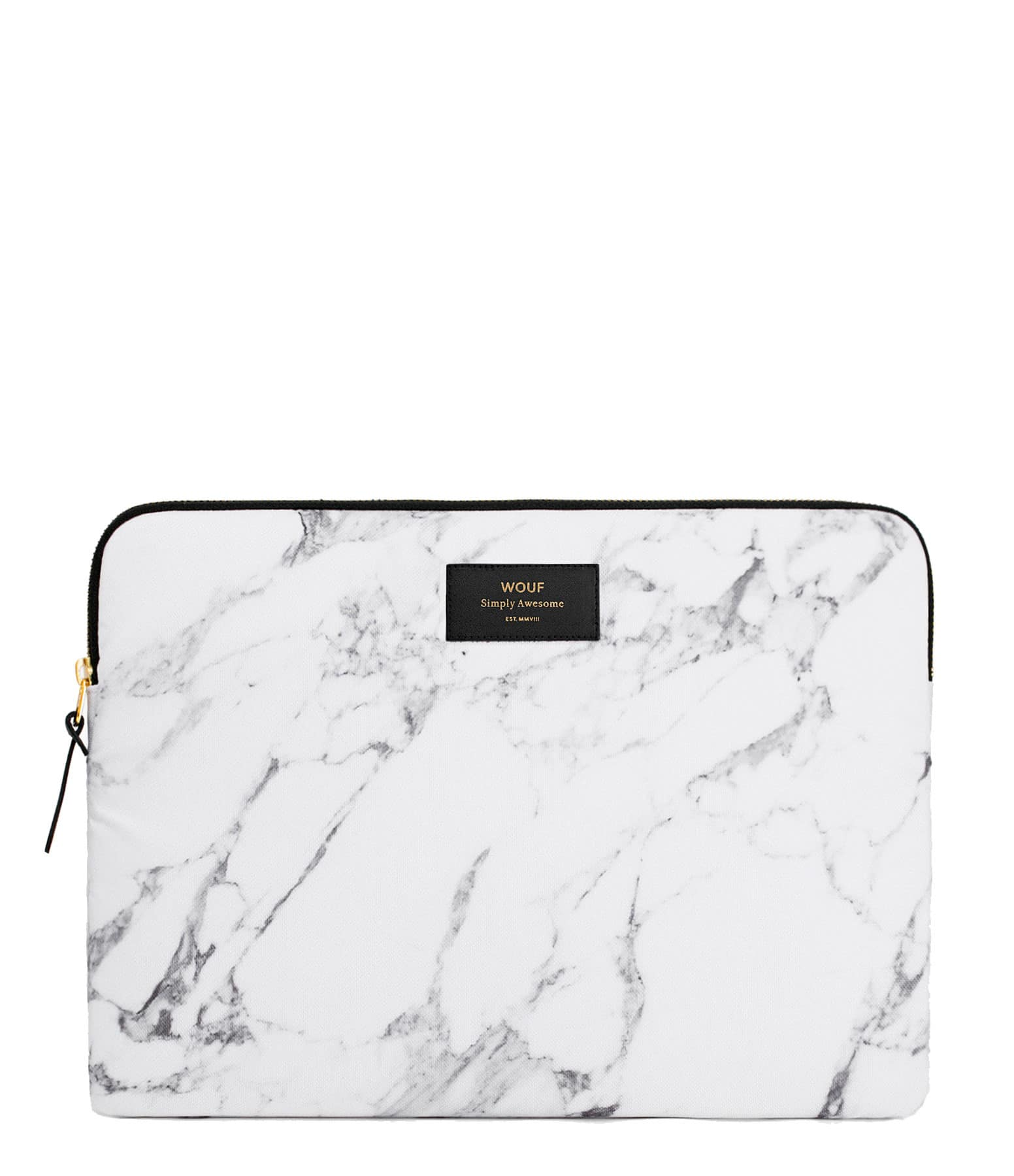 WOUF - Housse 15'' White Marble