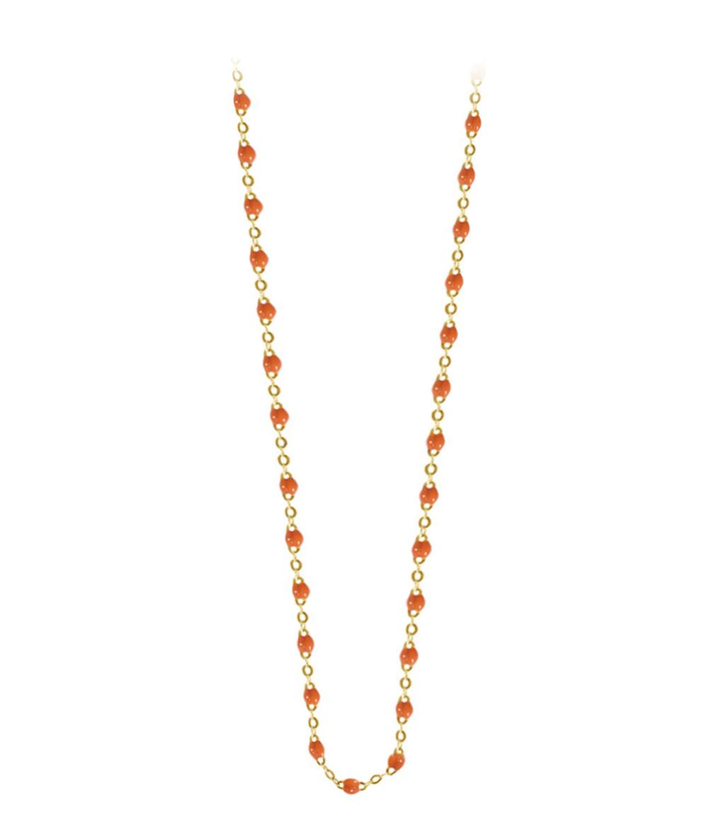 GIGI CLOZEAU -  Sautoir Perles Résine Or 120 cm 27 couleurs
