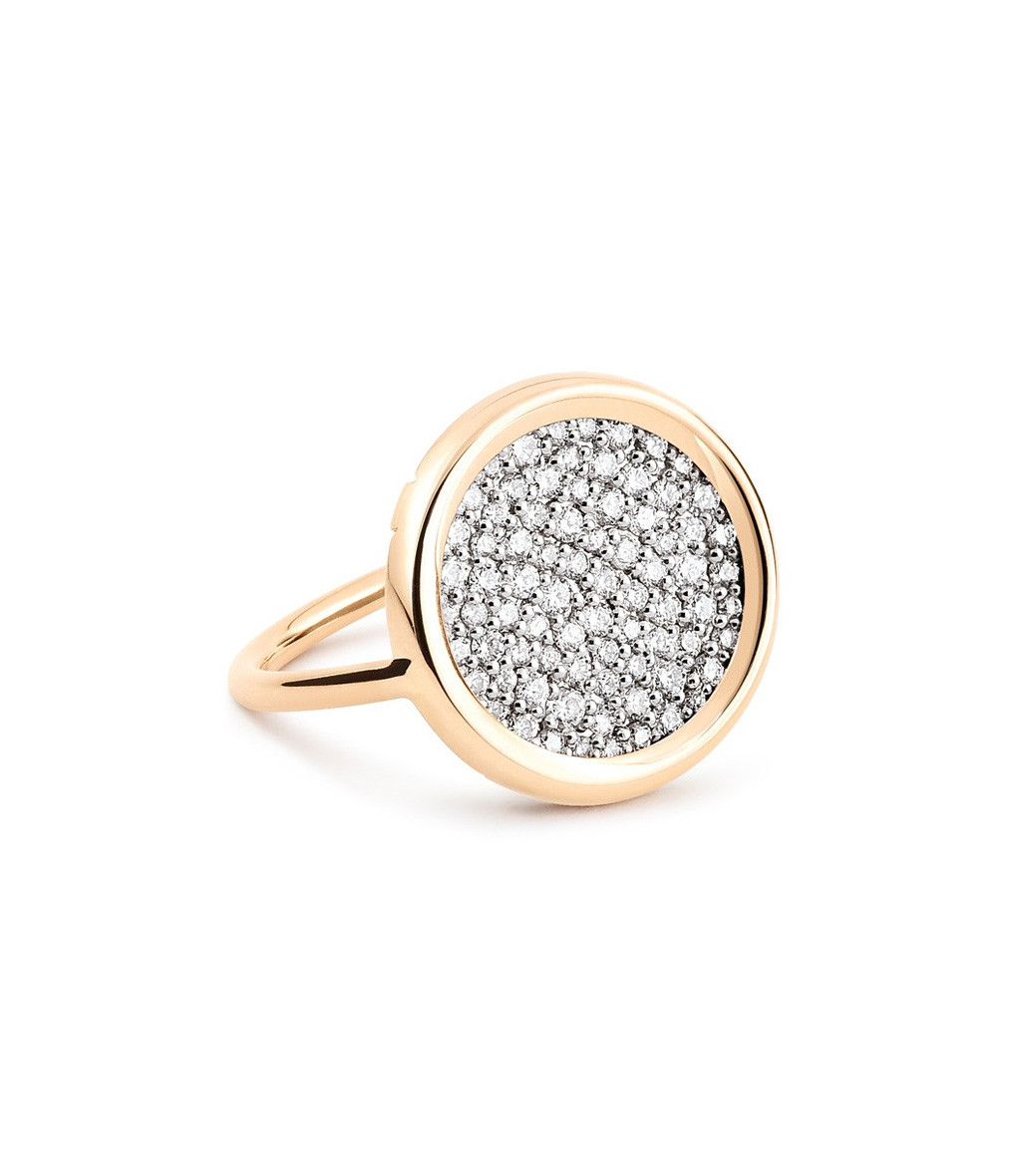 GINETTE_NY - Bague Mini Ever Disc Diamants