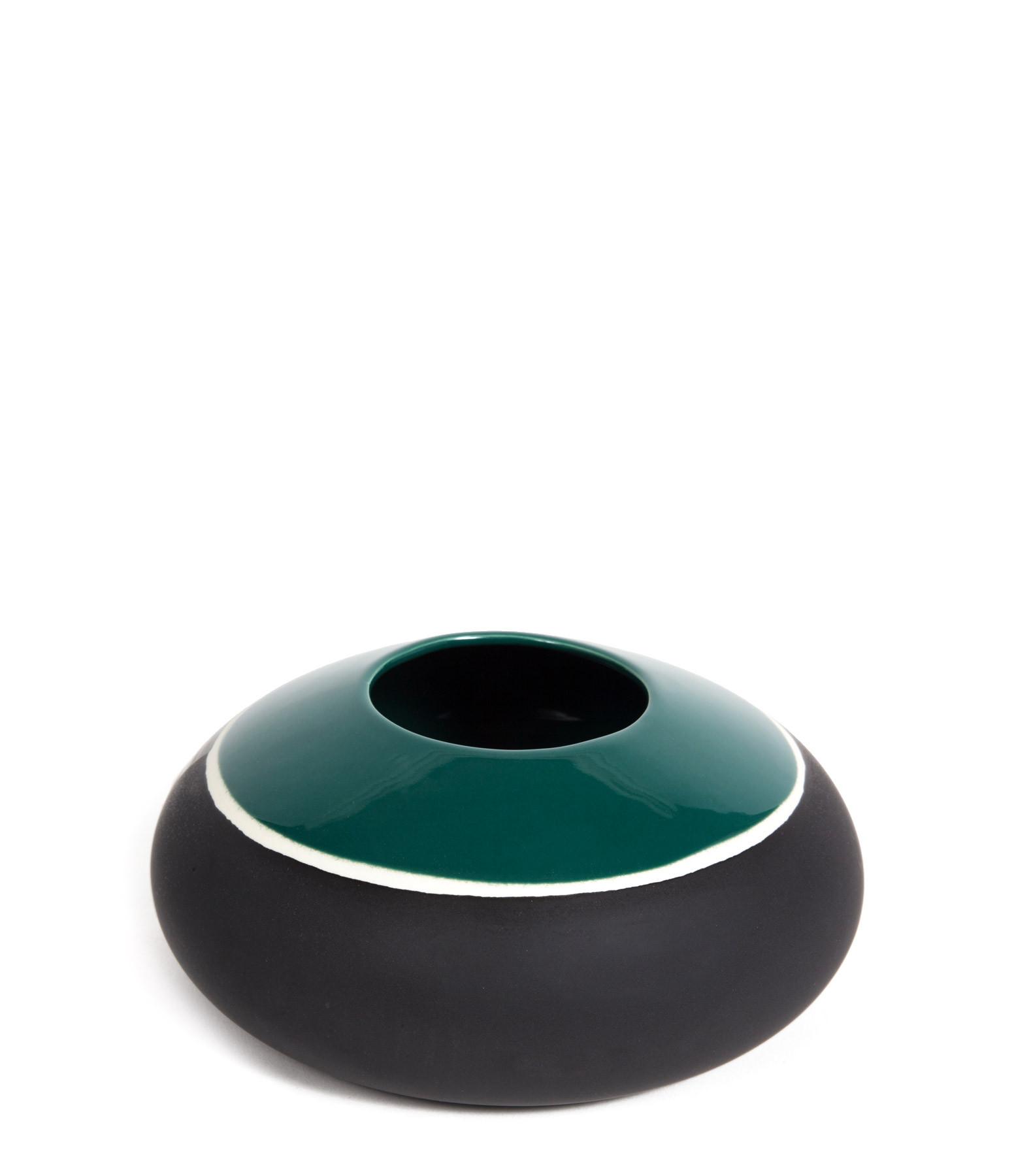 MAISON SARAH LAVOINE - Vase Sicilia Bleu Sarah 10x22cm