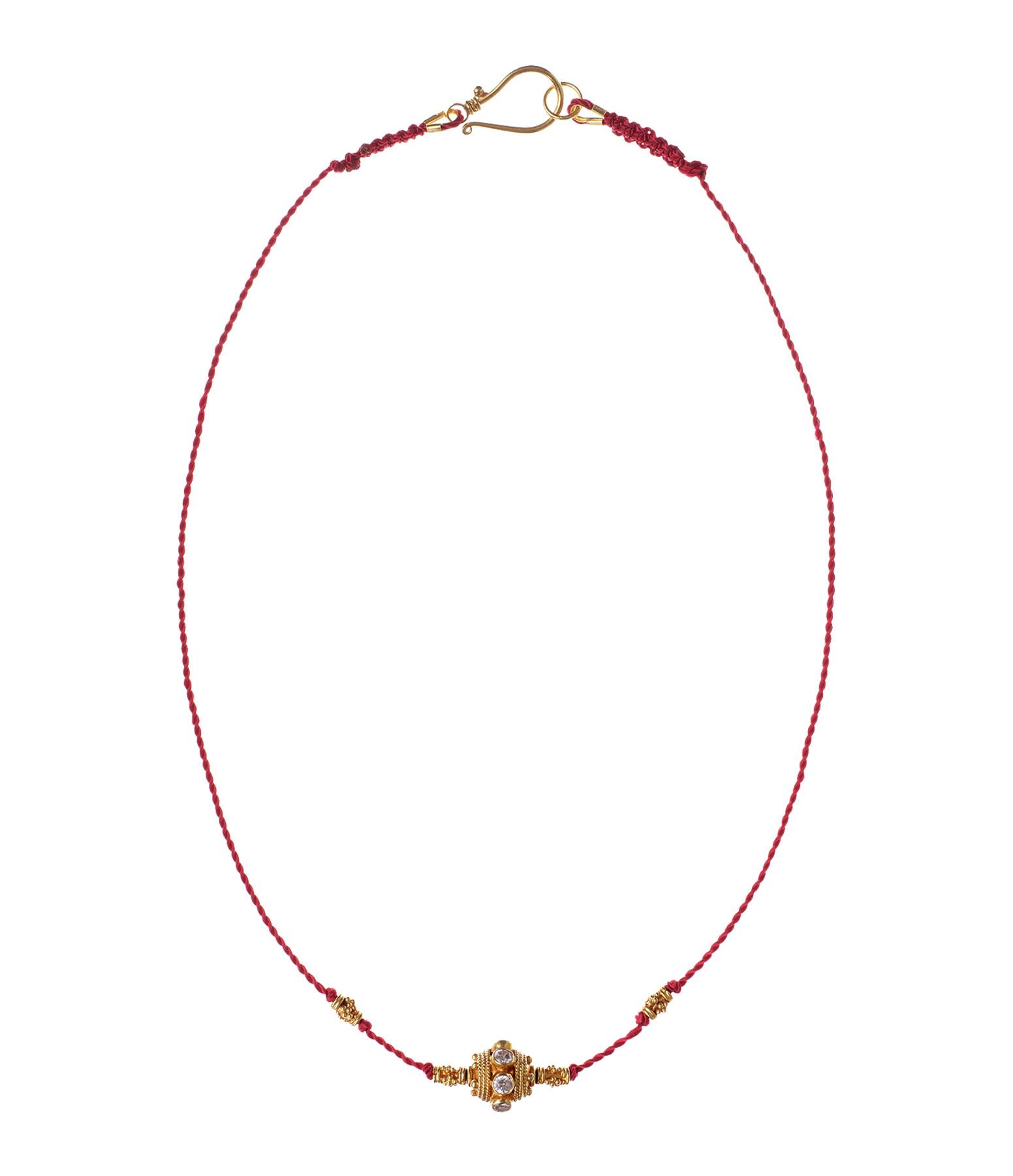 TITYARAVY - Collier Sarasvati Diamants Or