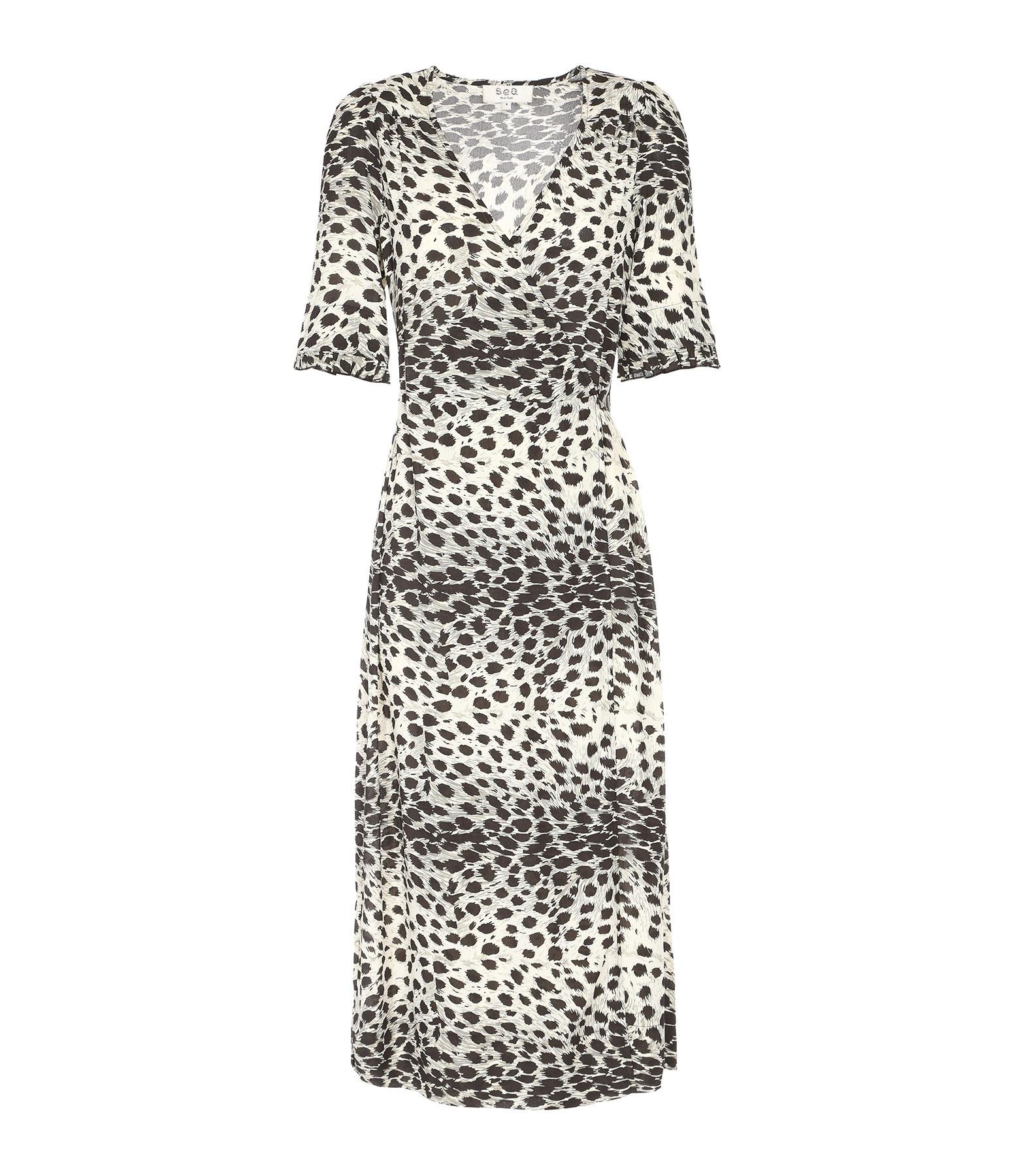 Vestido Vestido Natural Natural Monedero Vestido Monedero Monedero Leopardo Leopardo Leopardo cRLA43q5jS