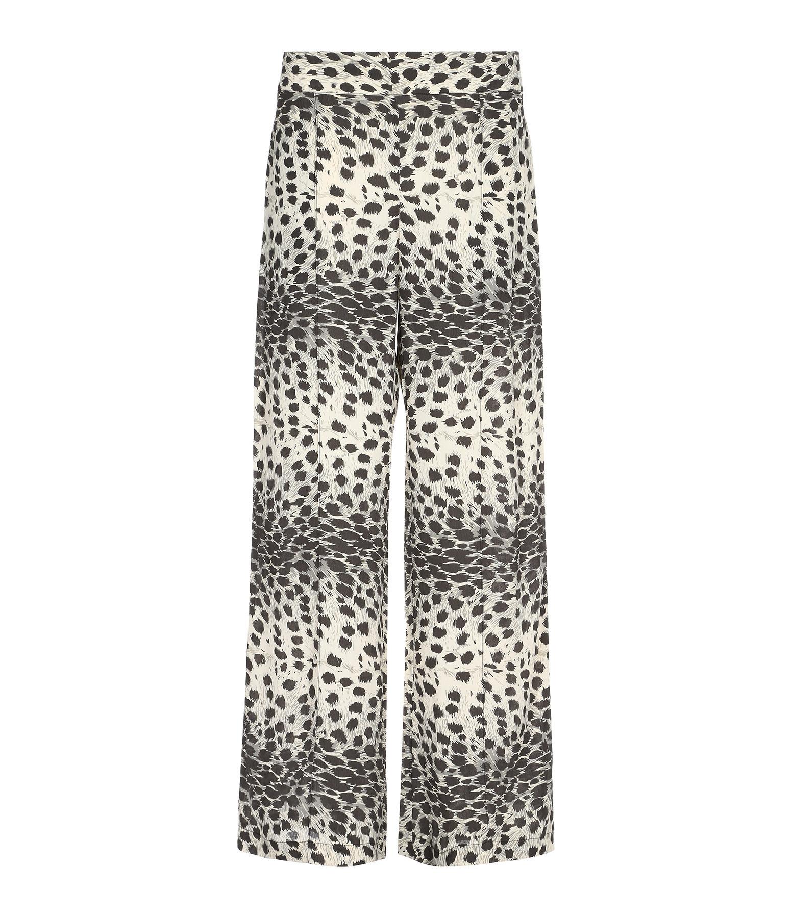 SEA NEW YORK - Pantalon Léopard Naturel