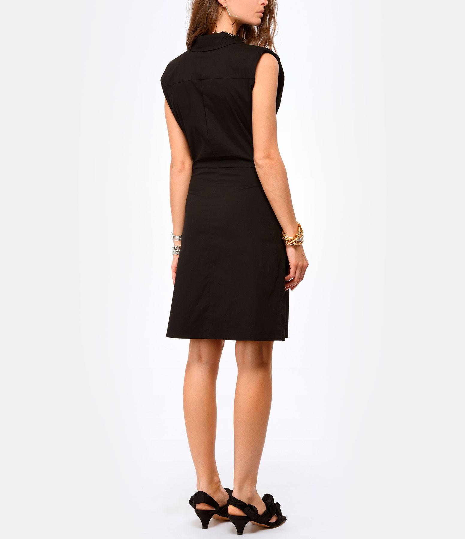 SEASONS - Robe Coton Noir
