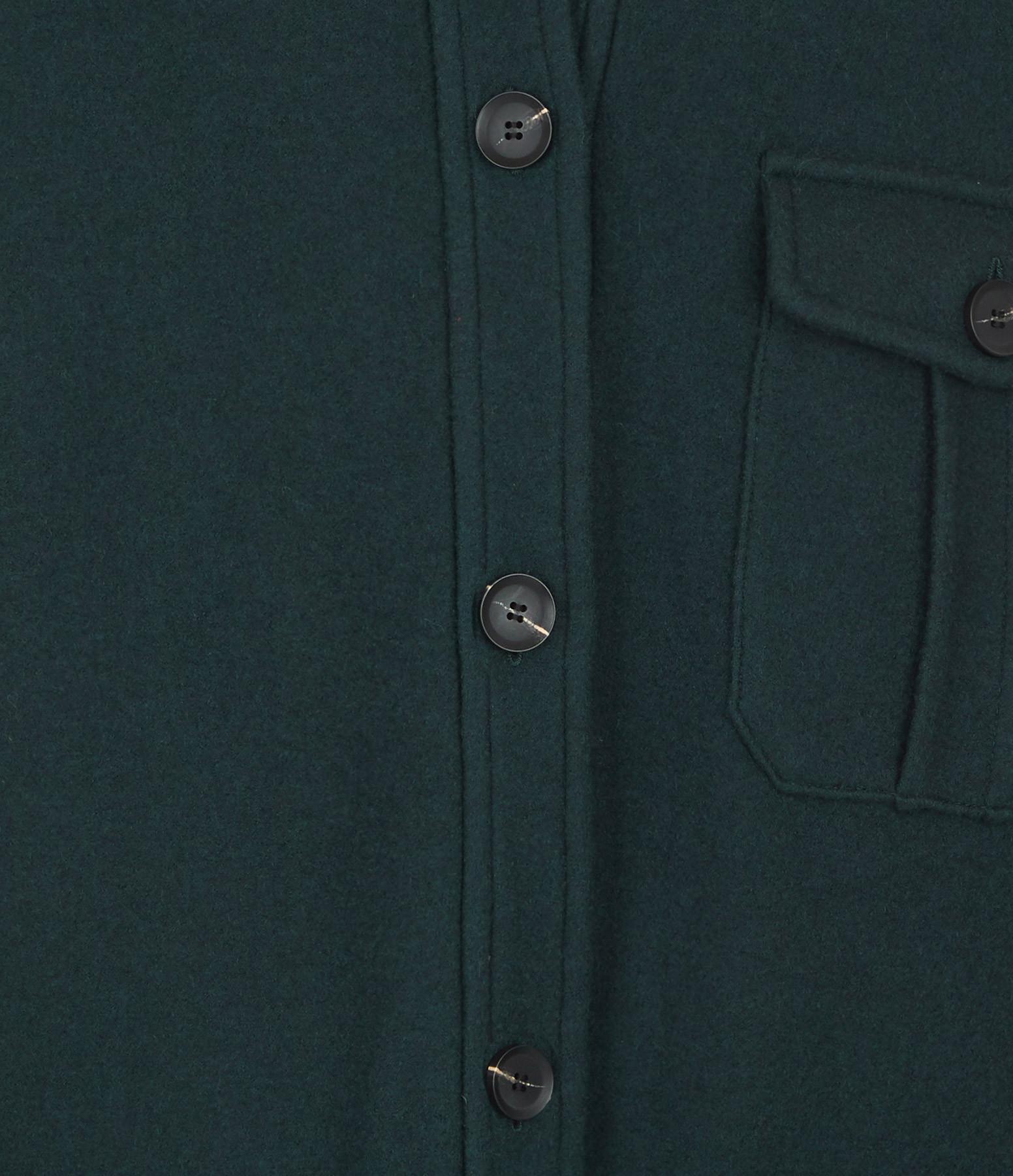 SEASONS - Veste Oversize Vert Jade