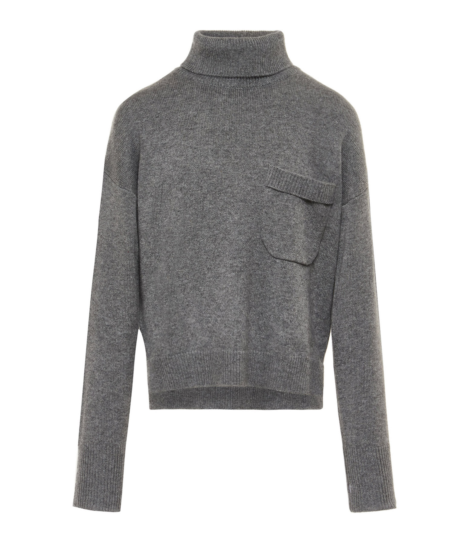 SEASONS - Pull Cachemire Gris Clair
