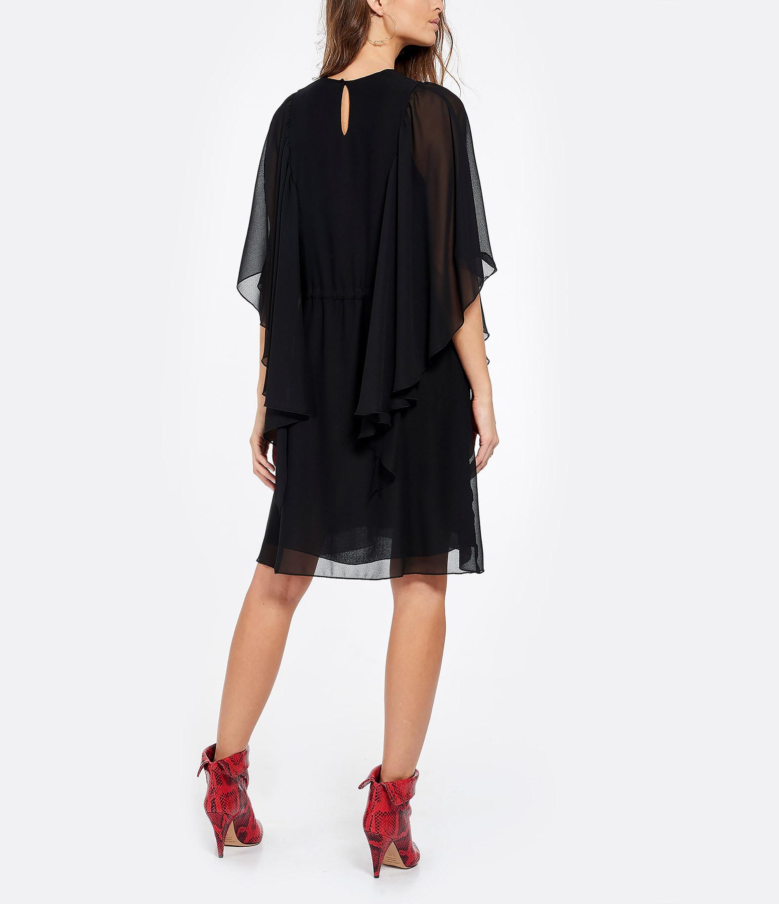 SEE BY CHLOE - Robe Volants Noir