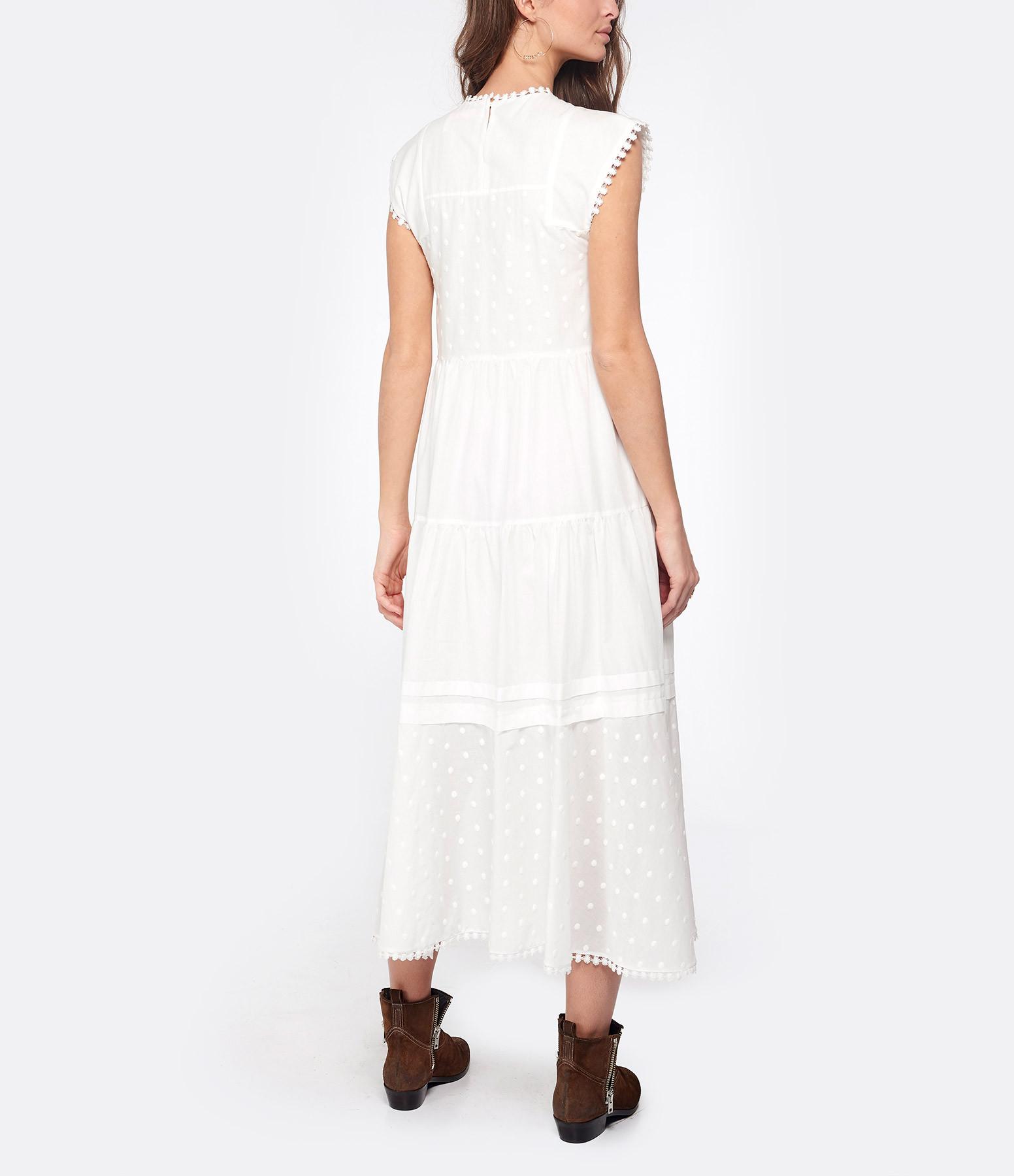 SEE BY CHLOE - Robe Longue Blanc