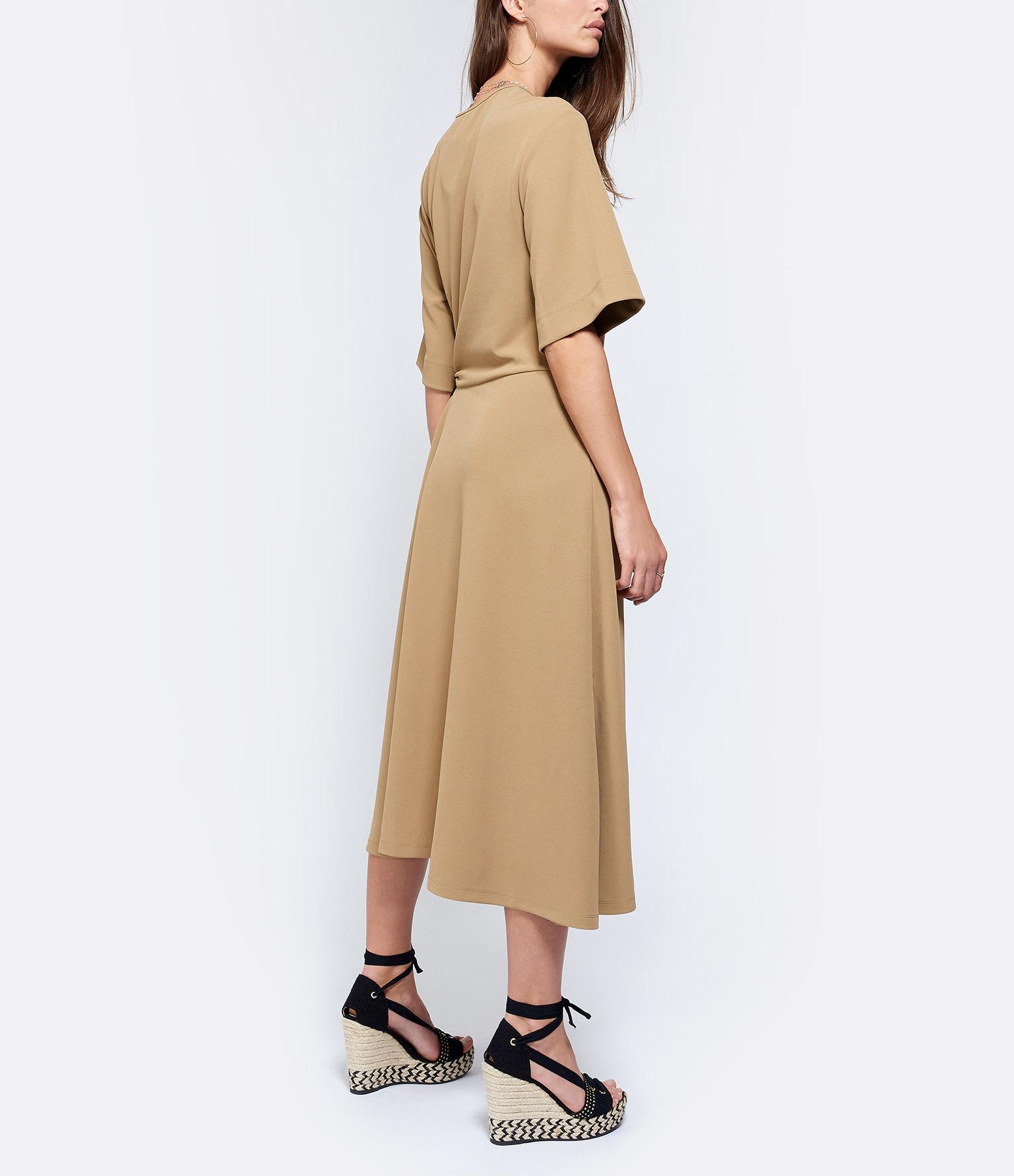 SEE BY CHLOE - Robe Drapée Jersey Marron