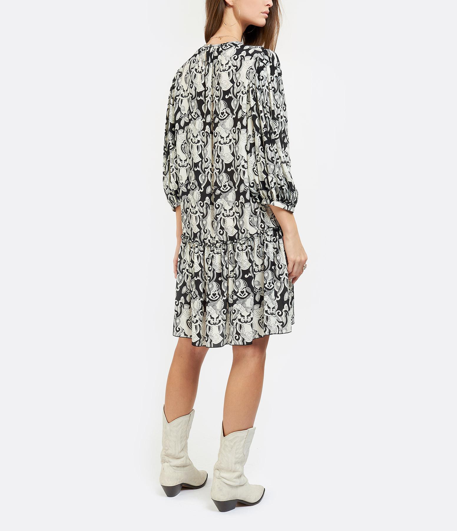 SEE BY CHLOE - Robe Imprimé Noir Blanc