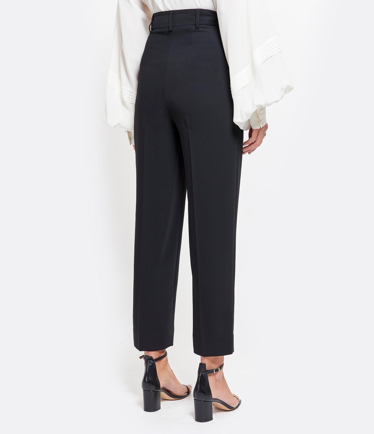 SEE BY CHLOE - Pantalon Coton Noir
