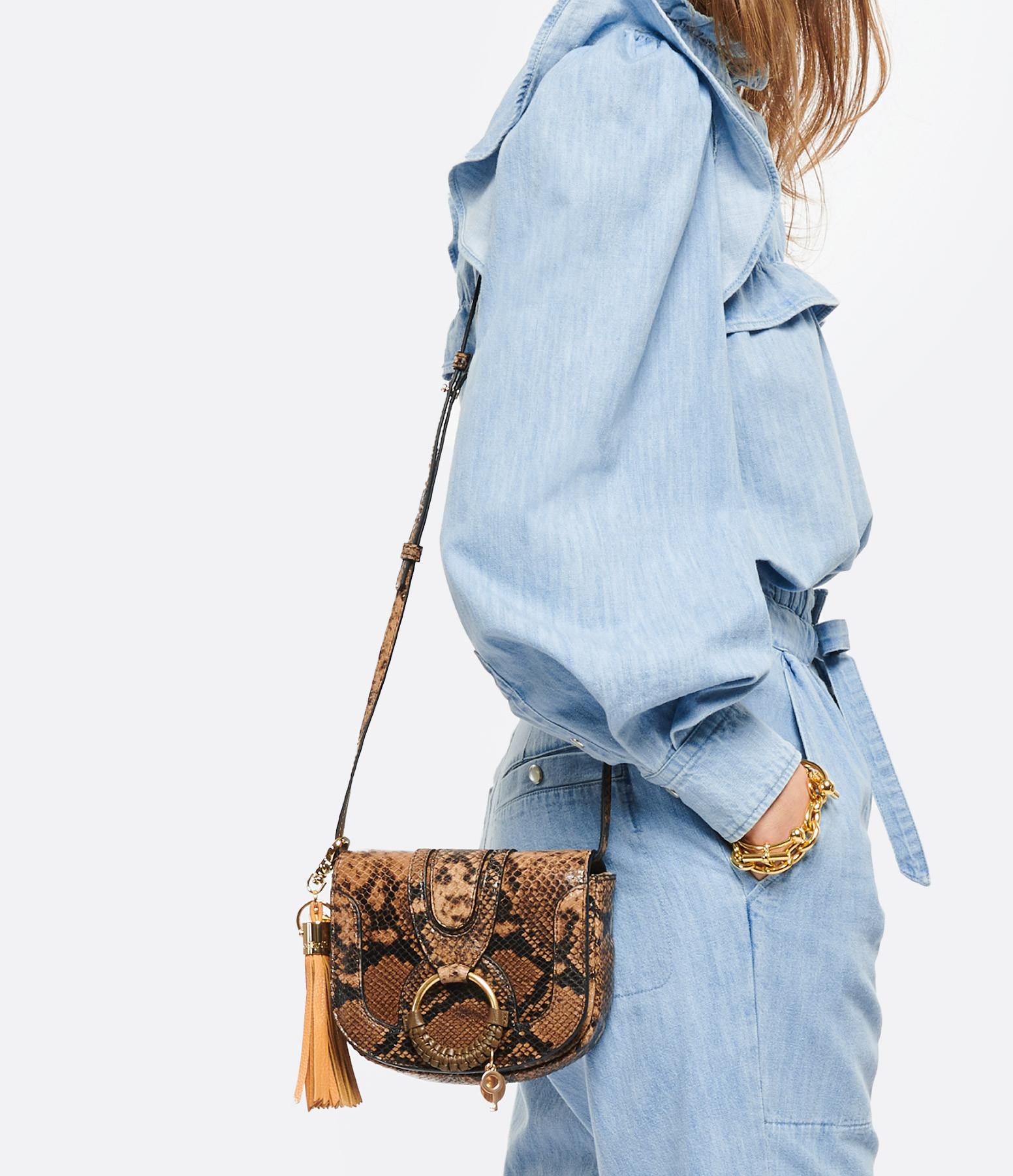 SEE BY CHLOE - Sac Hana Mini Cuir Coconut Brown