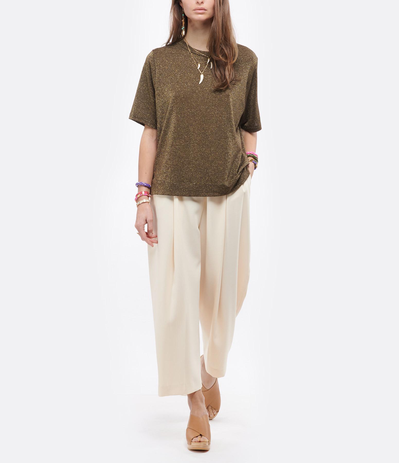 SEE BY CHLOE - Pantalon Angora Beige
