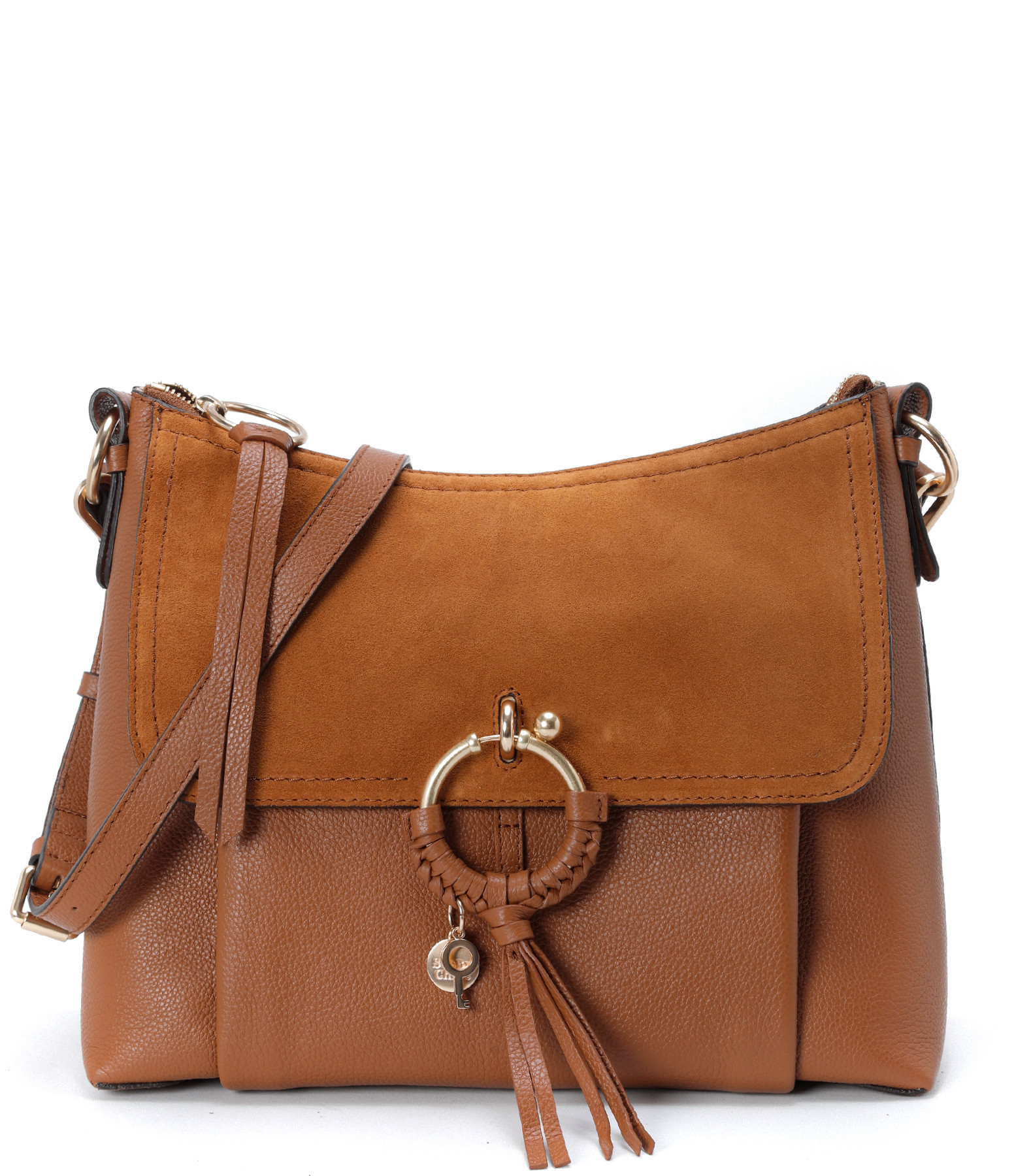 SEE BY CHLOE - Sac Joan GM Cuir Caramel