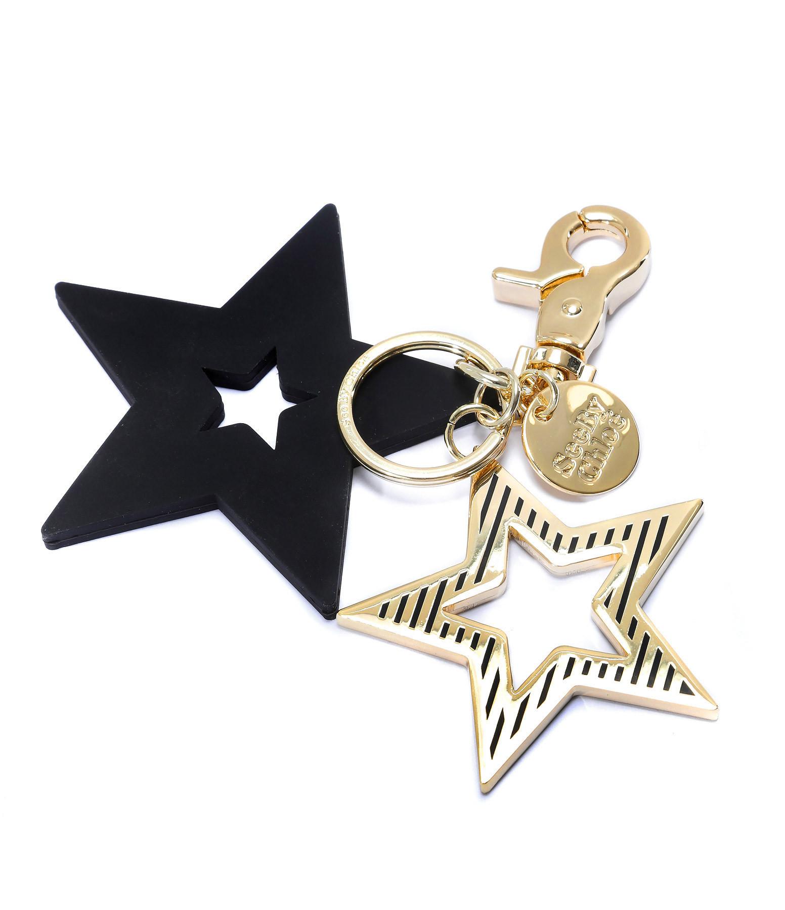 SEE BY CHLOE - Porte-clés Star Noir