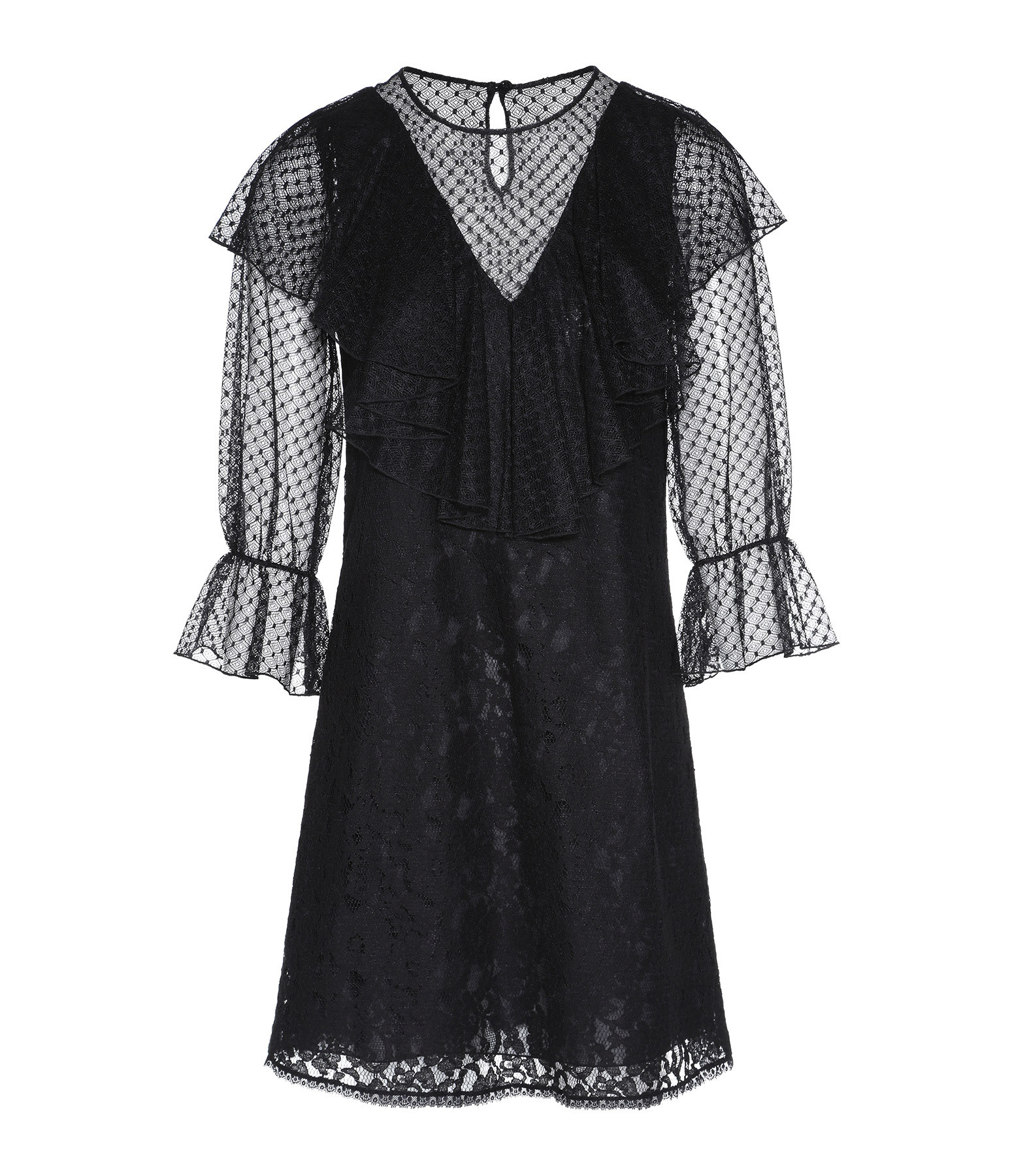 SEE BY CHLOE - Robe Volants Tulle Noir