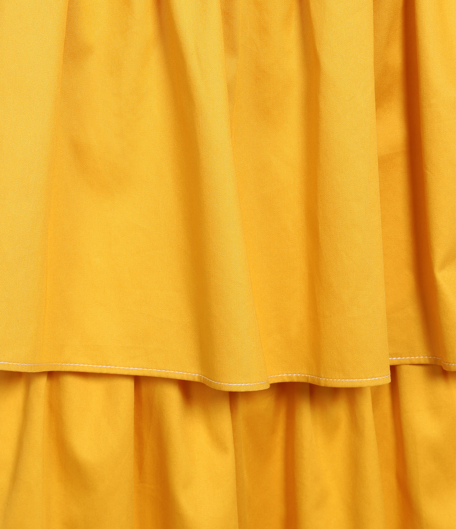 SEE BY CHLOE - Jupe Satin Coton Jaune Citron