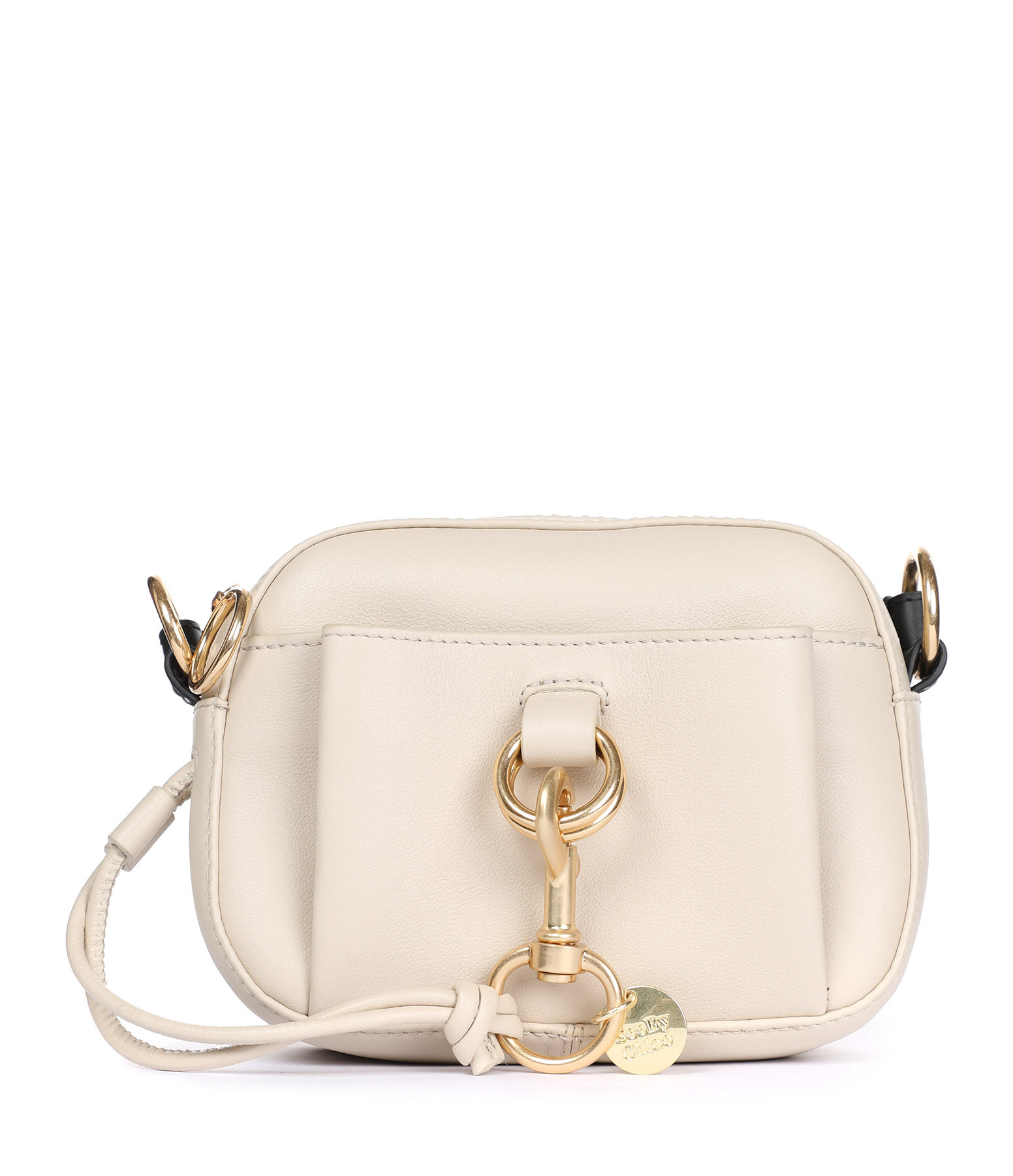SEE BY CHLOE - Sac Tony Cuir Beige Ciment