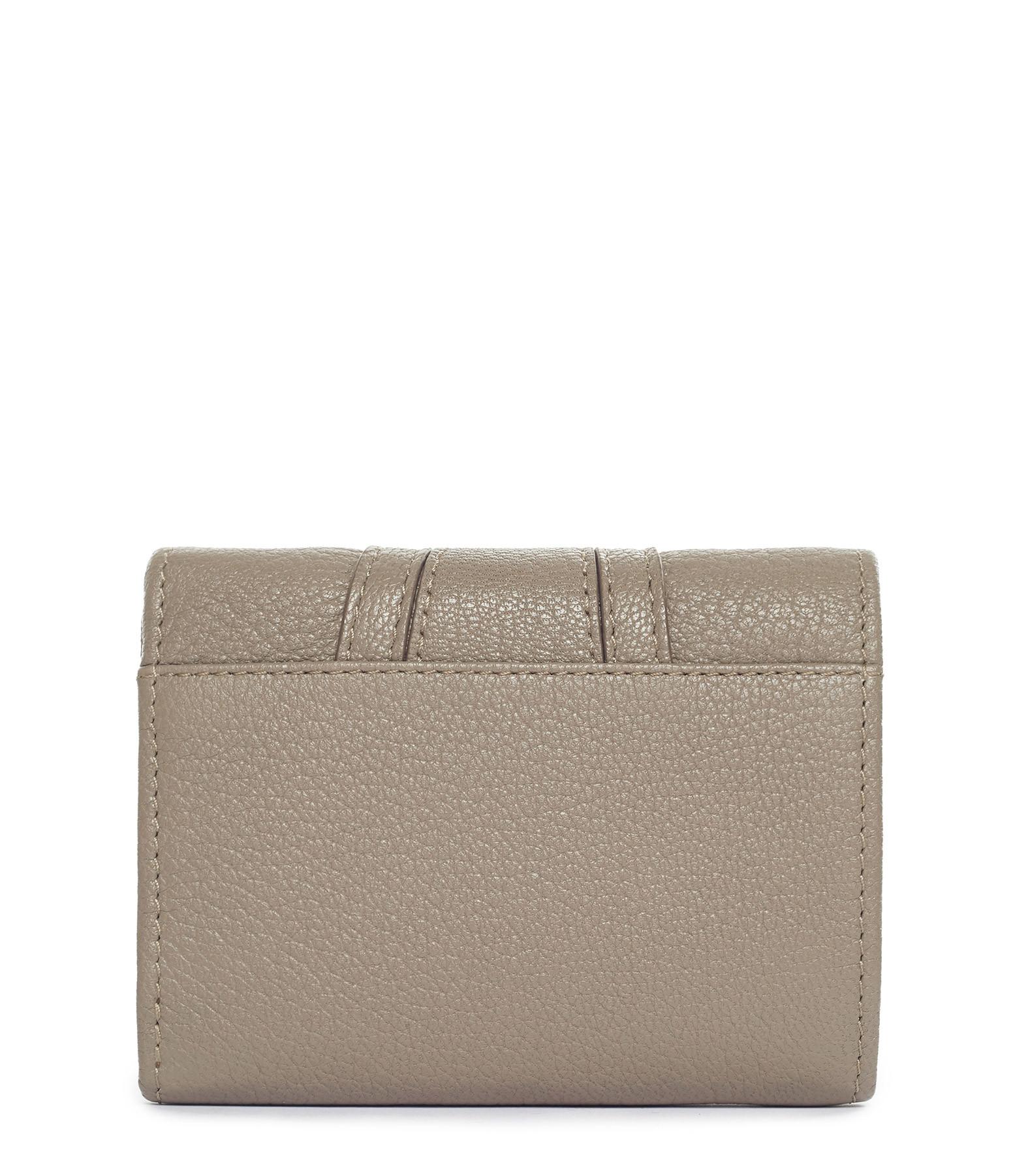 SEE BY CHLOE - Porte-monnaie Hana Cuir Motty Grey