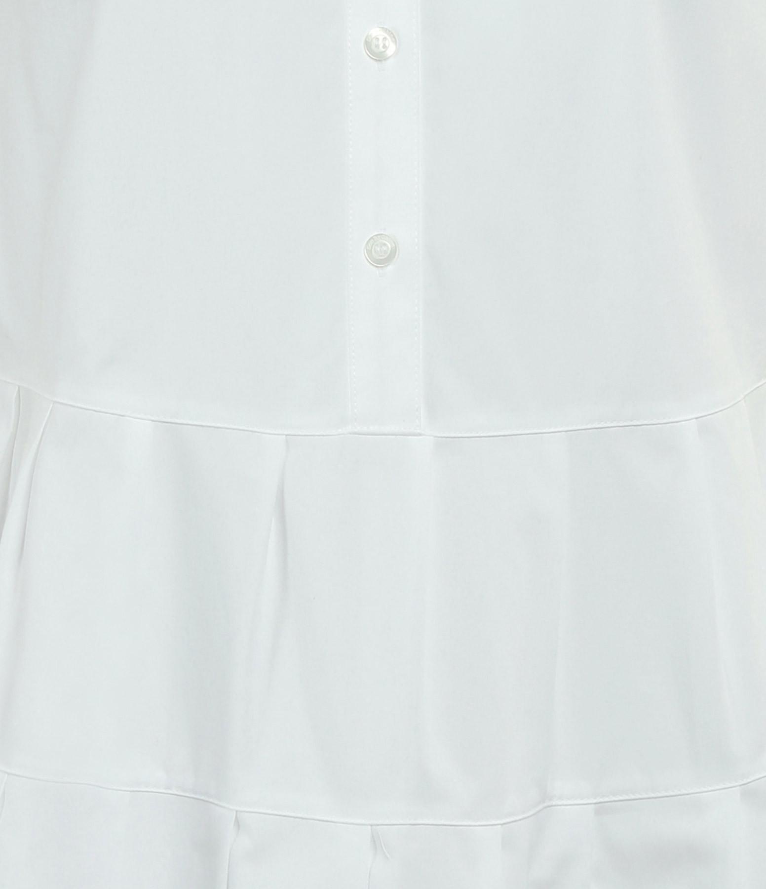 SEE BY CHLOE - Robe Trapèze Coton Blanc