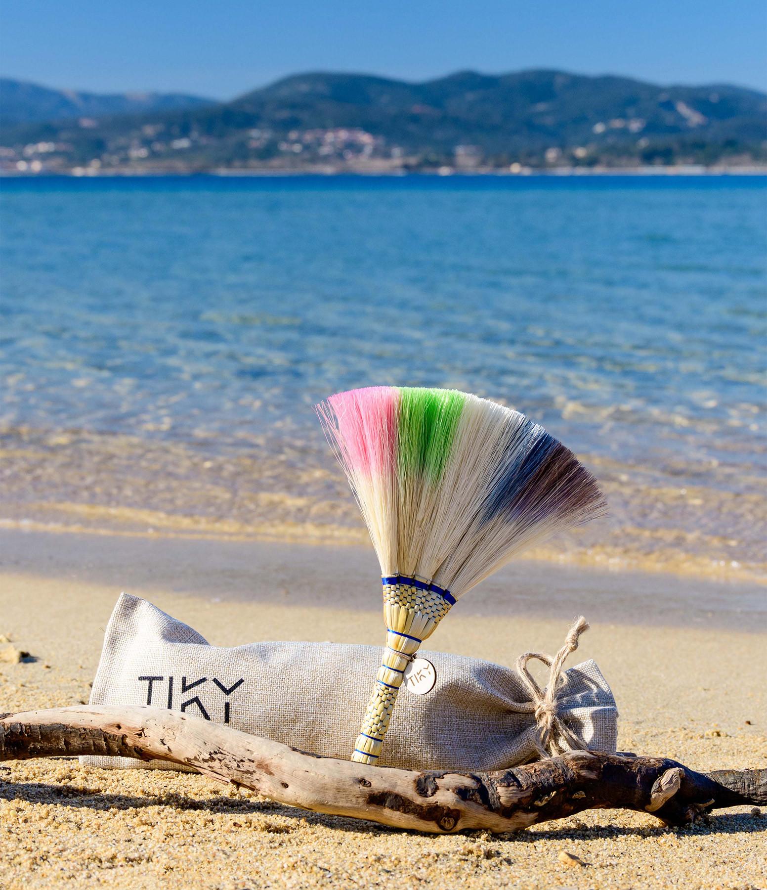 TIKY - Plumeau de Plage Tiky Multicolore