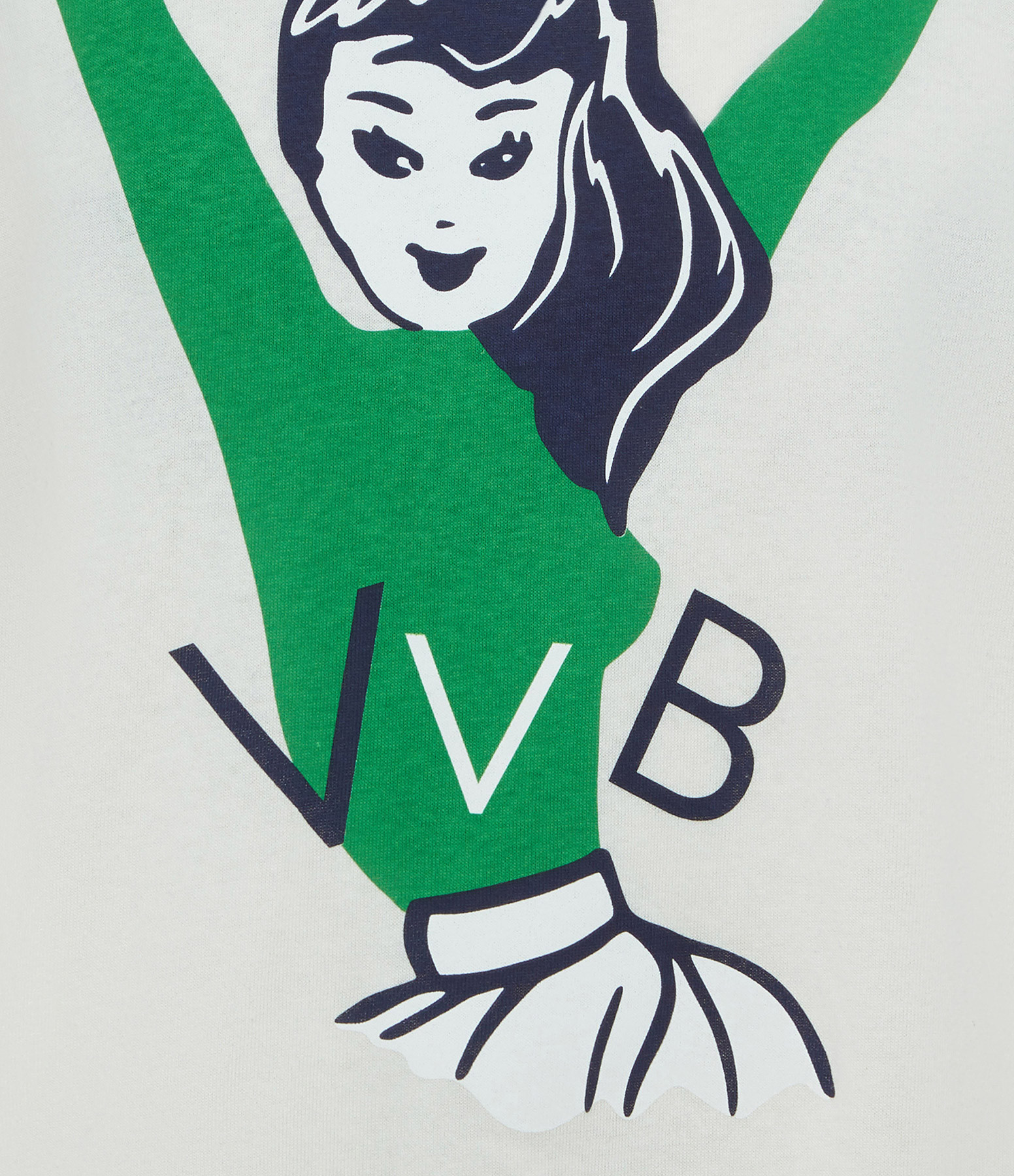 VICTORIA VICTORIA BECKHAM - Tee-shirt Cheerleader Blanc