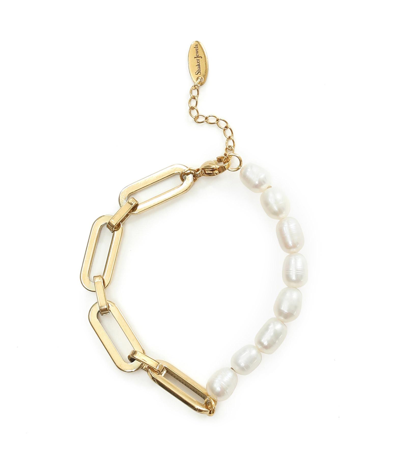 SHAKER JEWELS - Bracelet Iris Perles Plaqué Or
