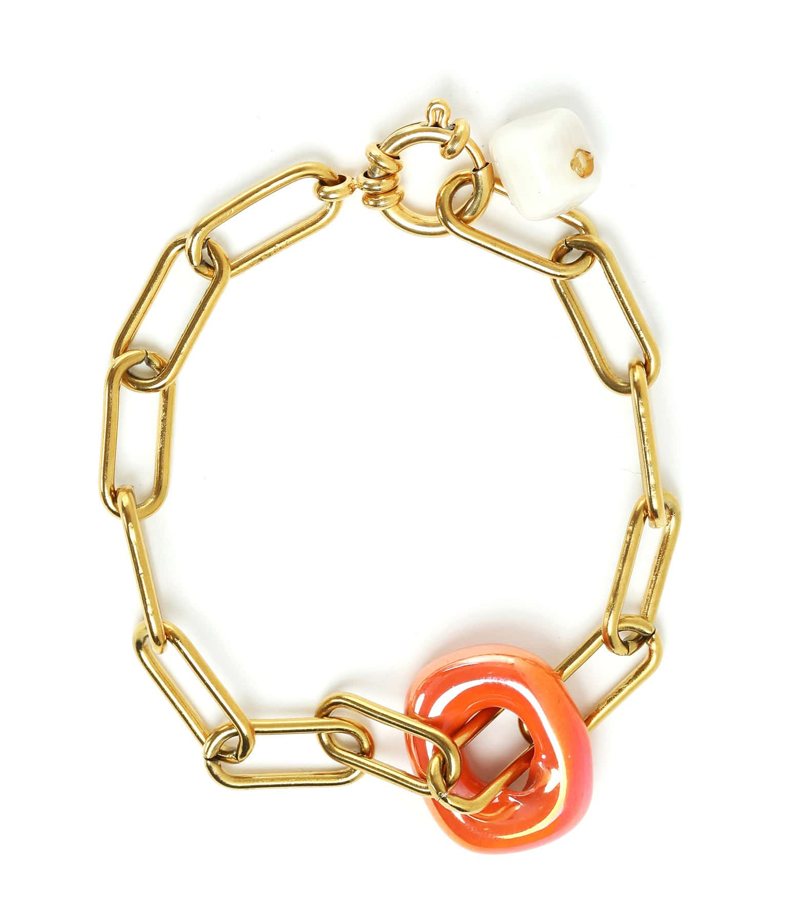 SHAKER JEWELS - Bracelet Solo Plaqué Or