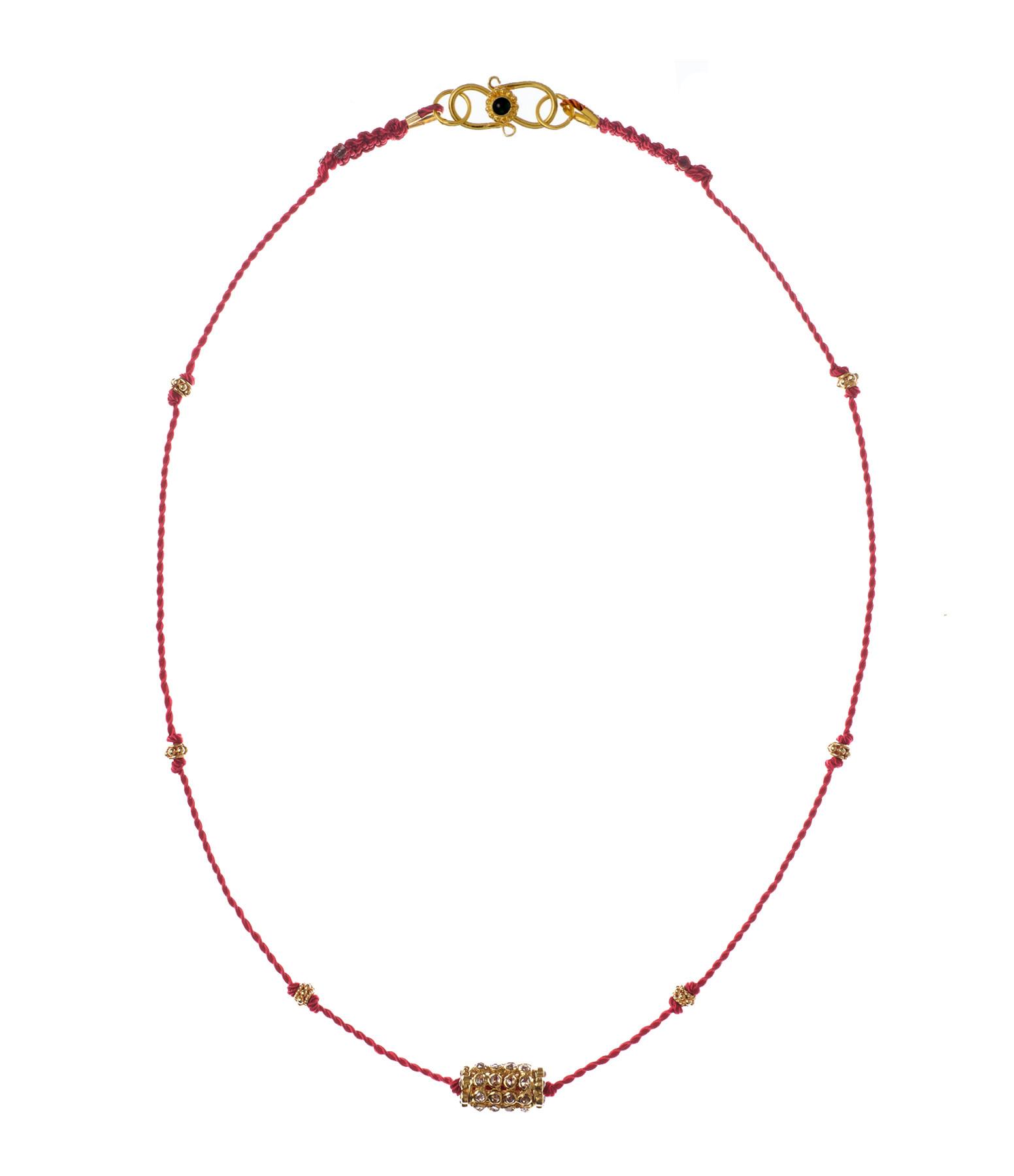 TITYARAVY - Collier Shakti Diamants Or