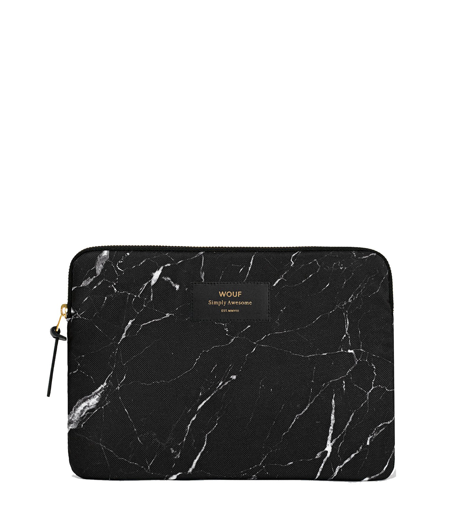 WOUF - Housse Ipad Black Marble