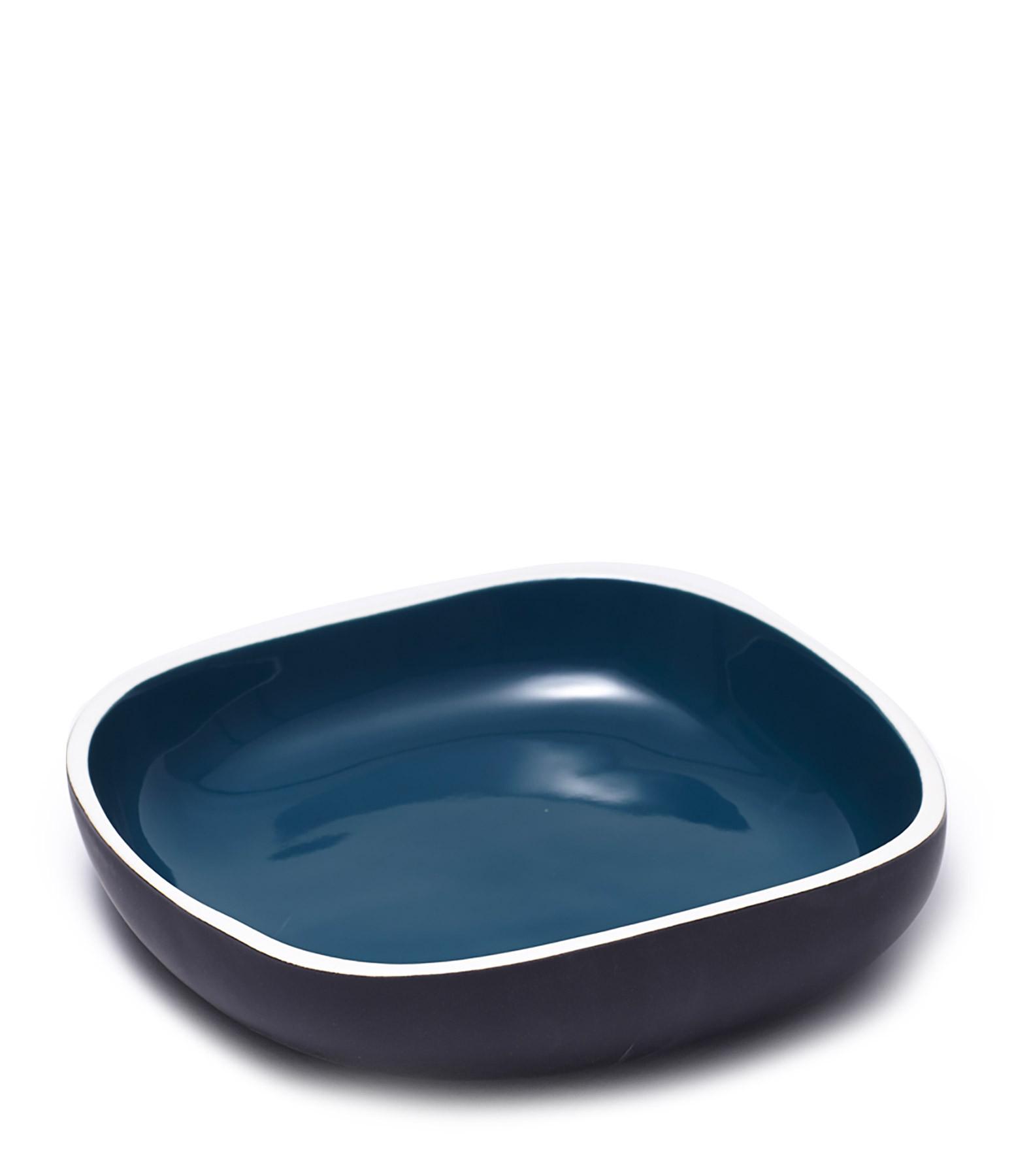 MAISON SARAH LAVOINE - Vide Poche Sicilia Bleu Vintage 25x25cm