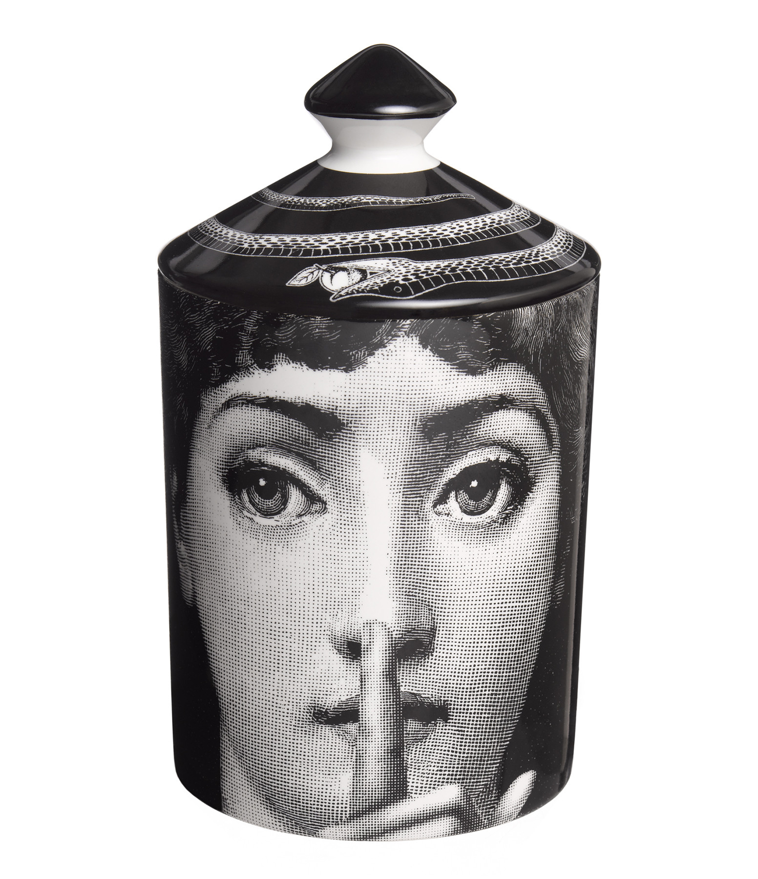 FORNASETTI - Bougie Parfumée 300g Silenzio