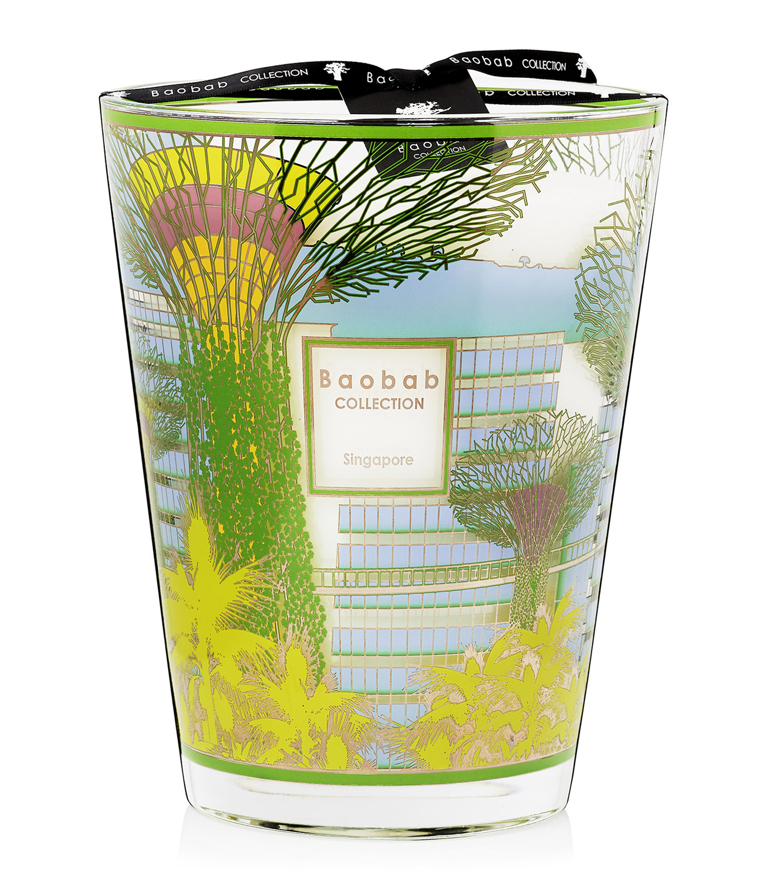 BAOBAB COLLECTION - Bougie Max 24 Cities Singapore