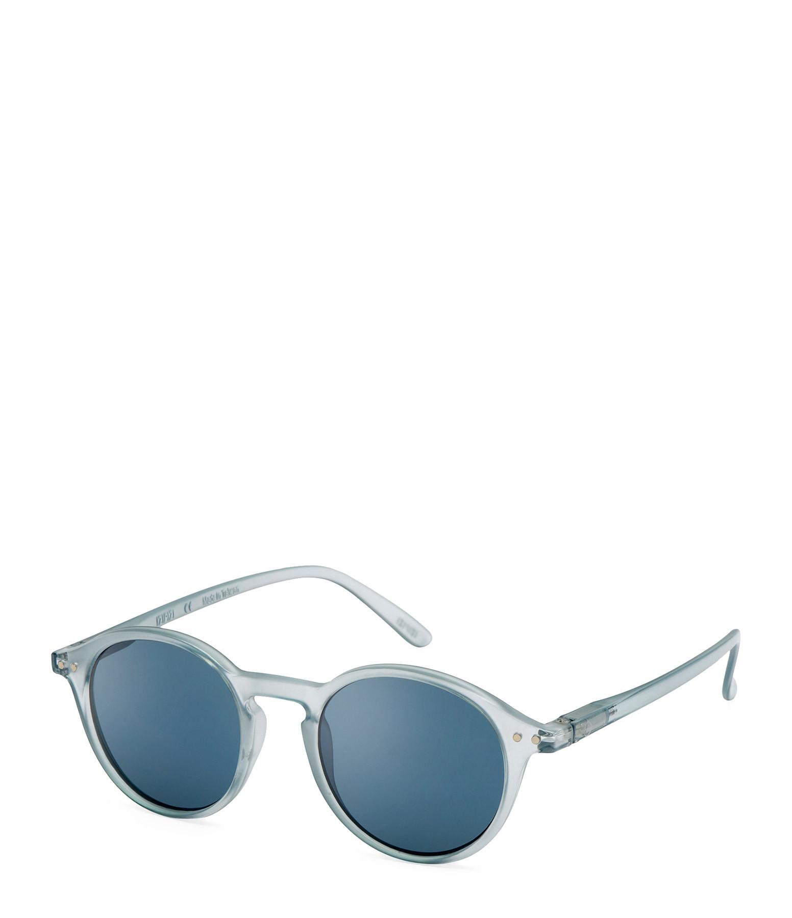 IZI PIZI - Lunettes de Soleil #D L'Iconique Frosted Blue