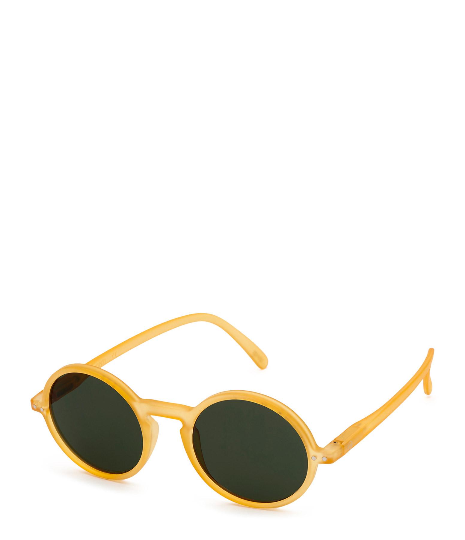IZI PIZI - Lunettes de Soleil #G La Ronde Yellow Honey