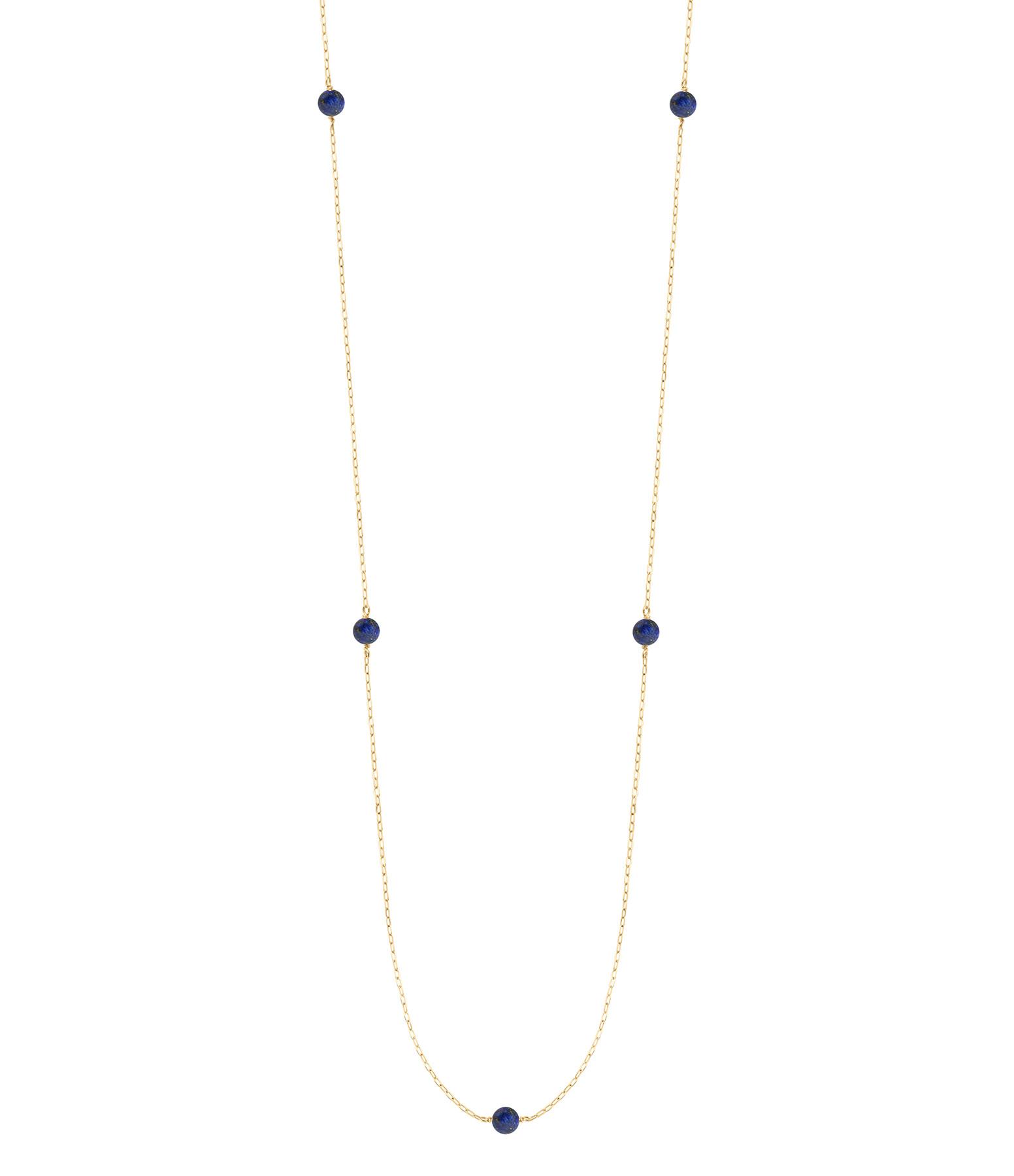 CHARLET - Sautoir Massilia Lapis Lazuli