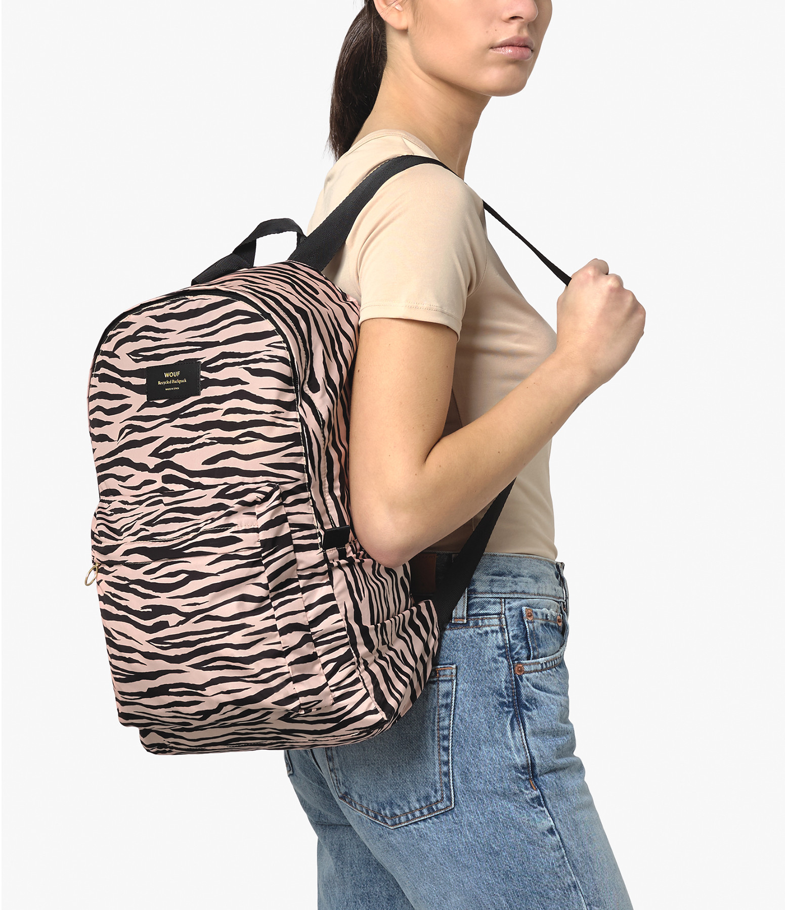WOUF - Sac à Dos Recyclé Soft Tiger
