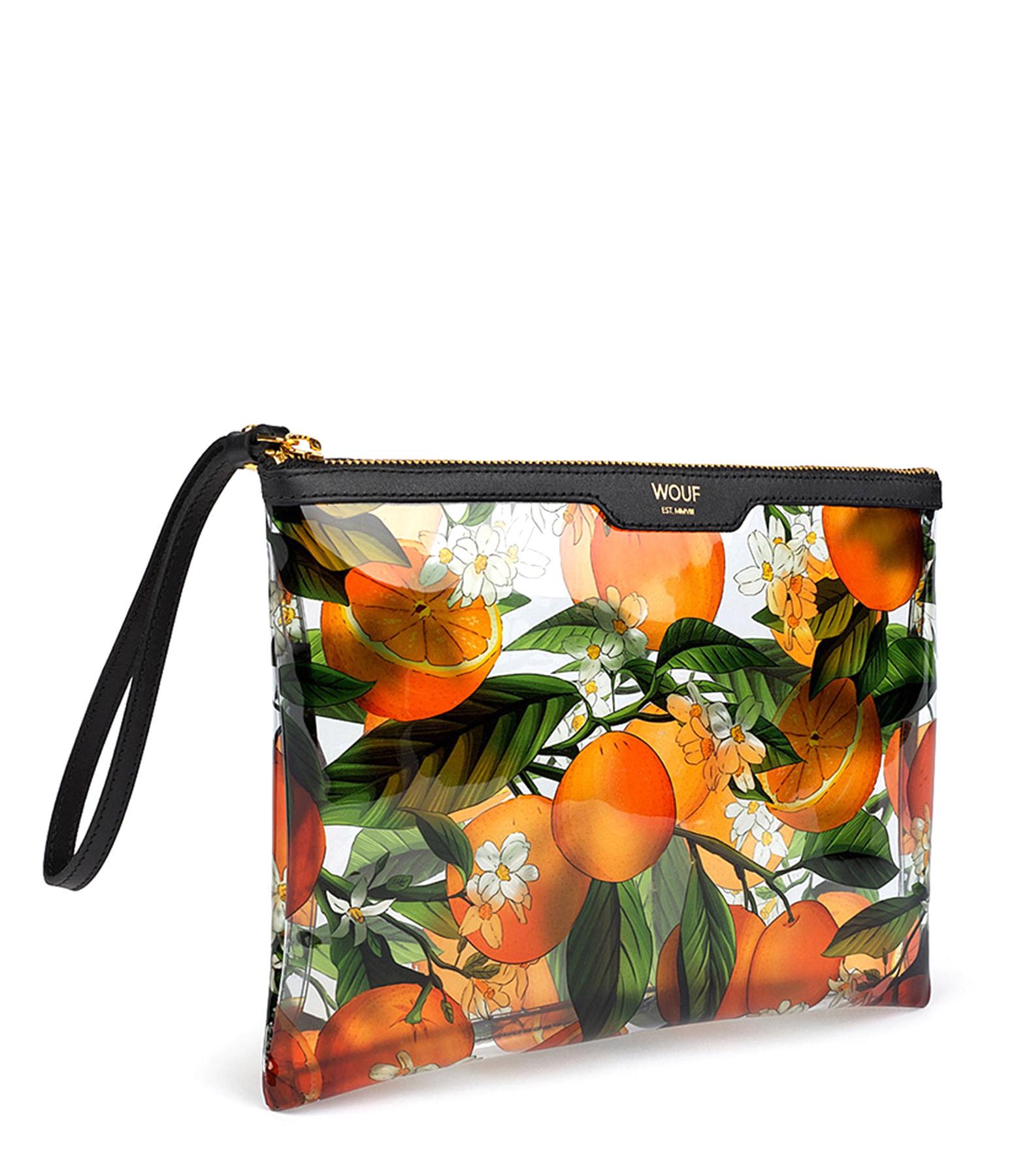 WOUF - Pochette de Soirée Vinyl Orange Blossom