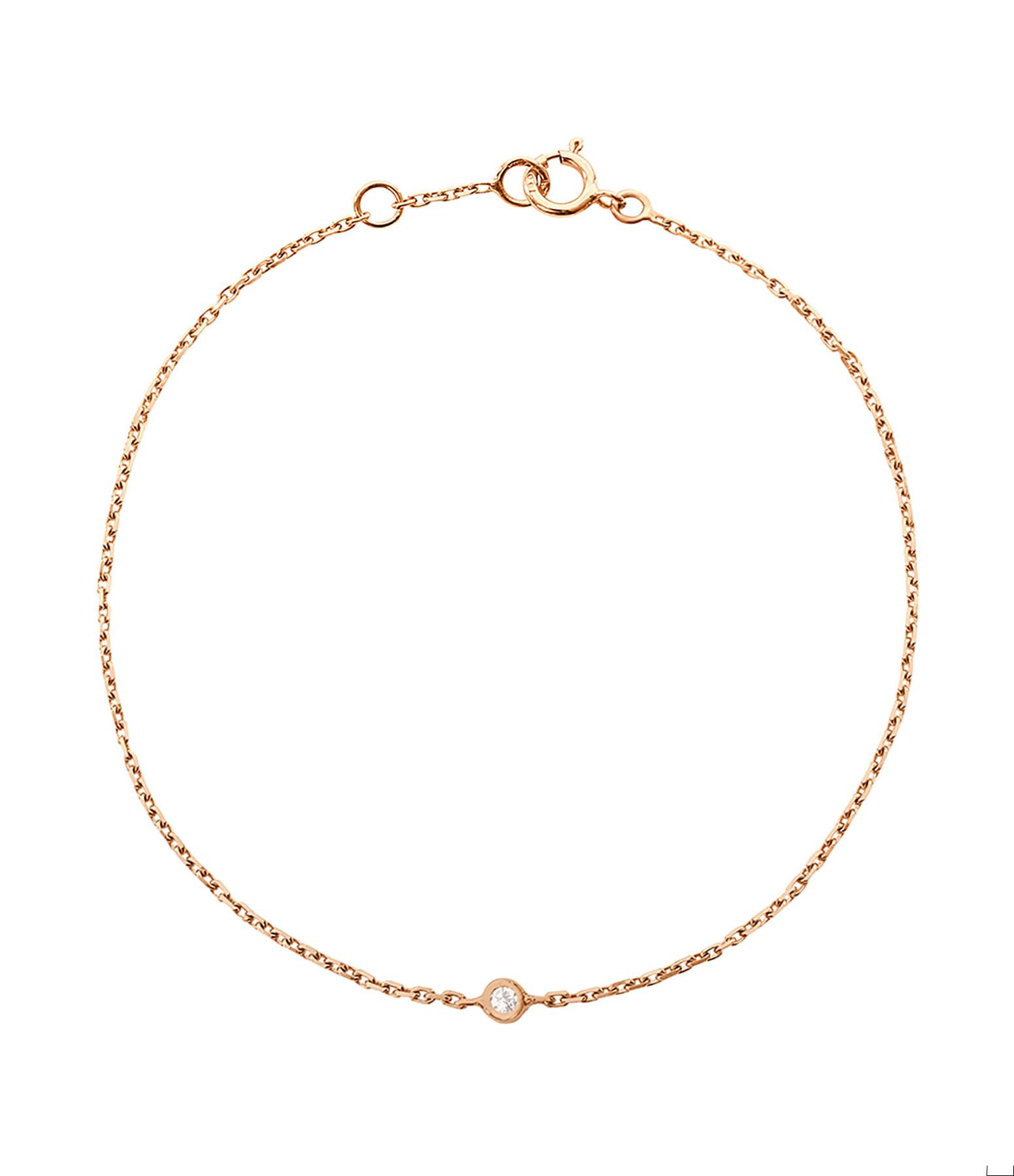Bracelet Solitaire Diamant - GIGI CLOZEAU