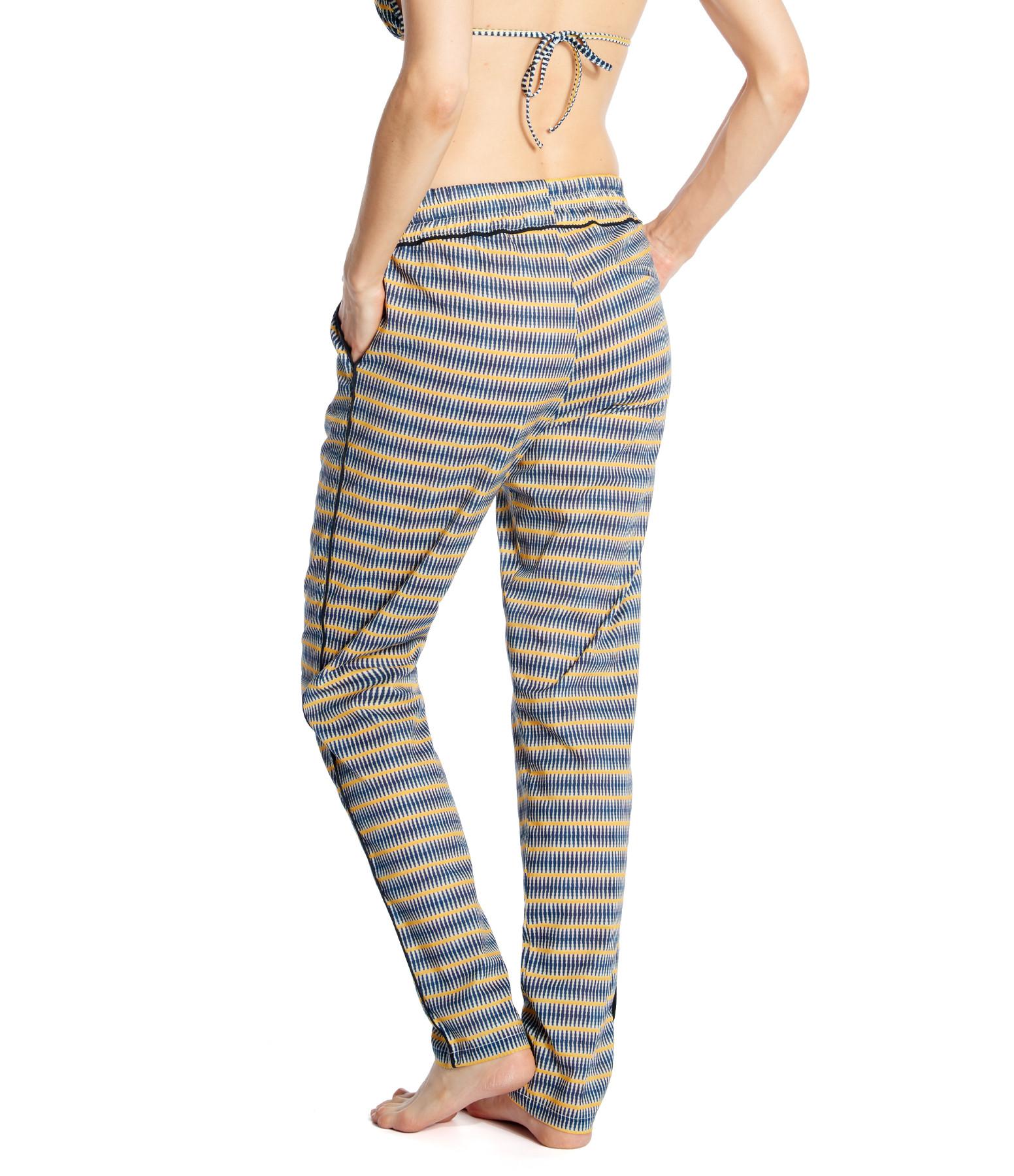 TOOSHIE - Pantalon Capri Imprimé Ikat