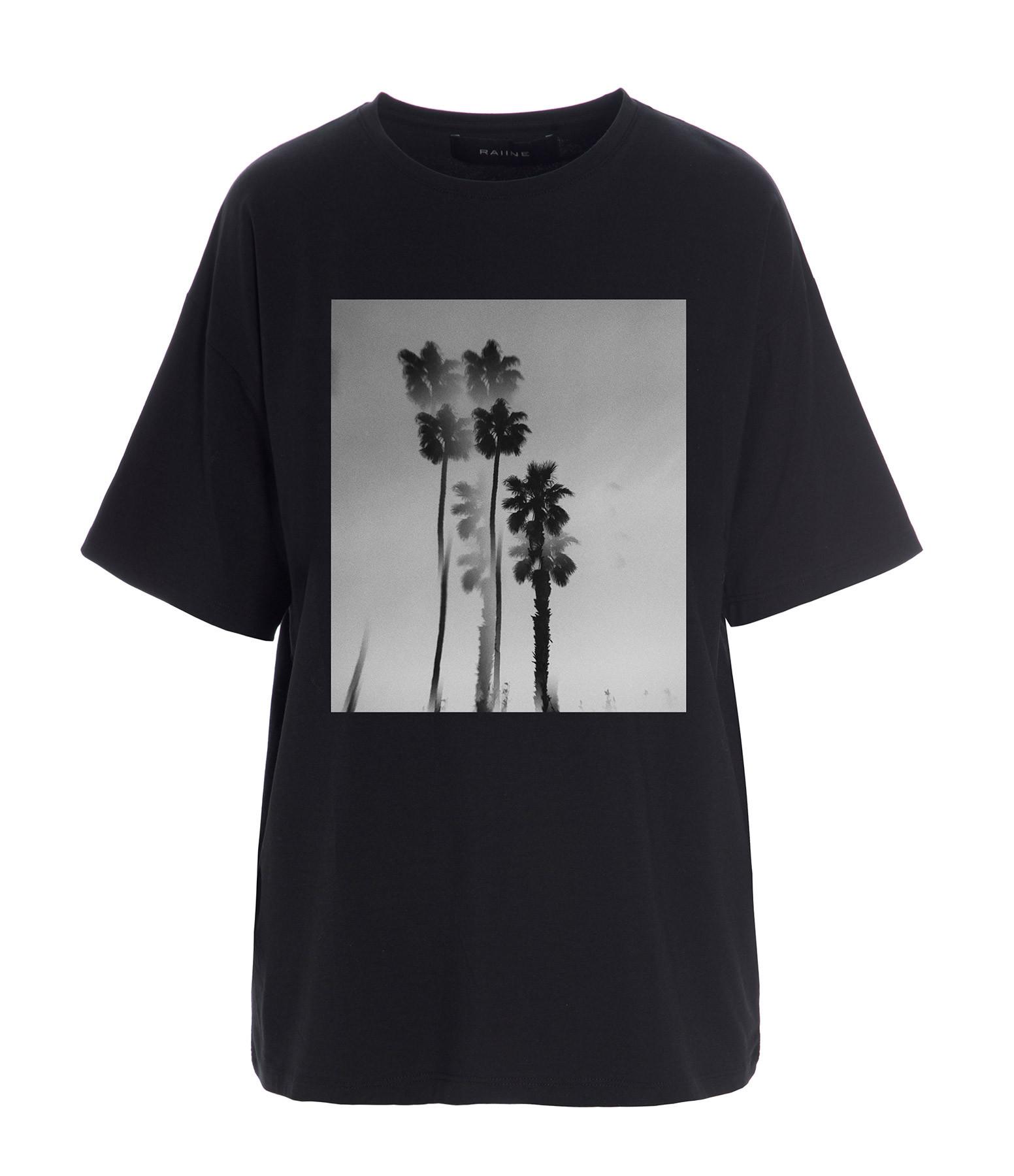 RAIINE - Tee-shirt Cedar Coton Noir