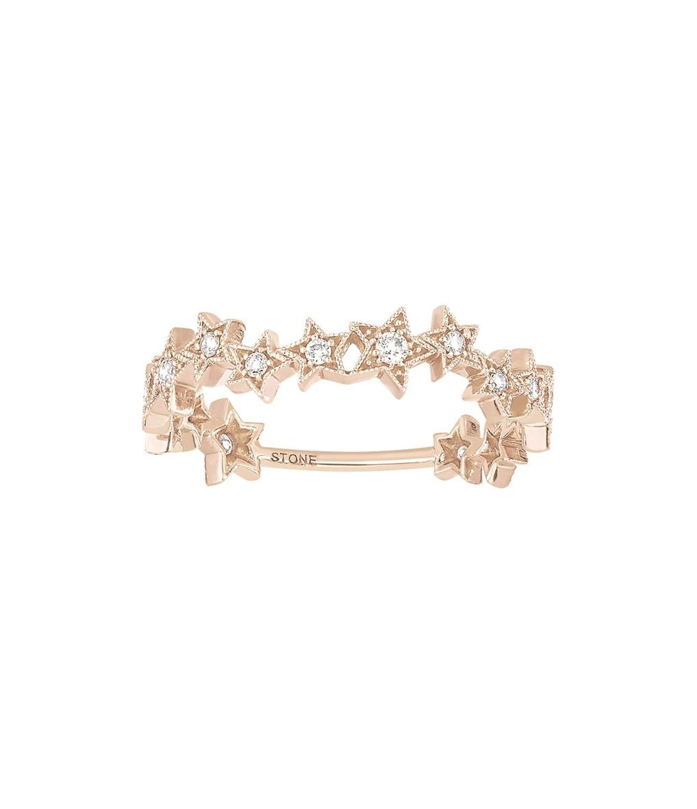 Bague Stardust Or Diamants - Stone