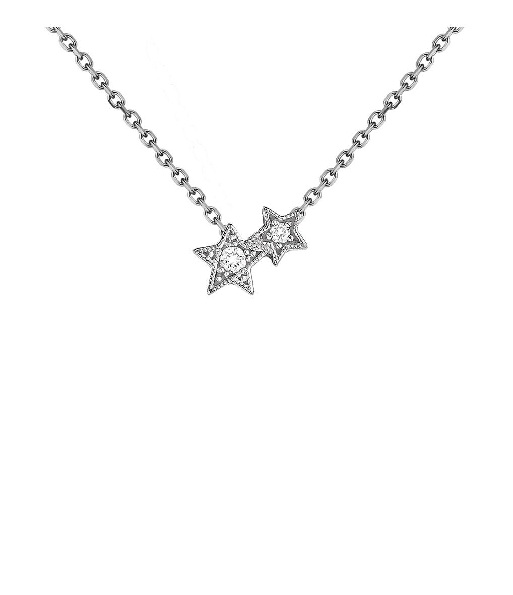 Collier Stardust Or Diamants- Stone