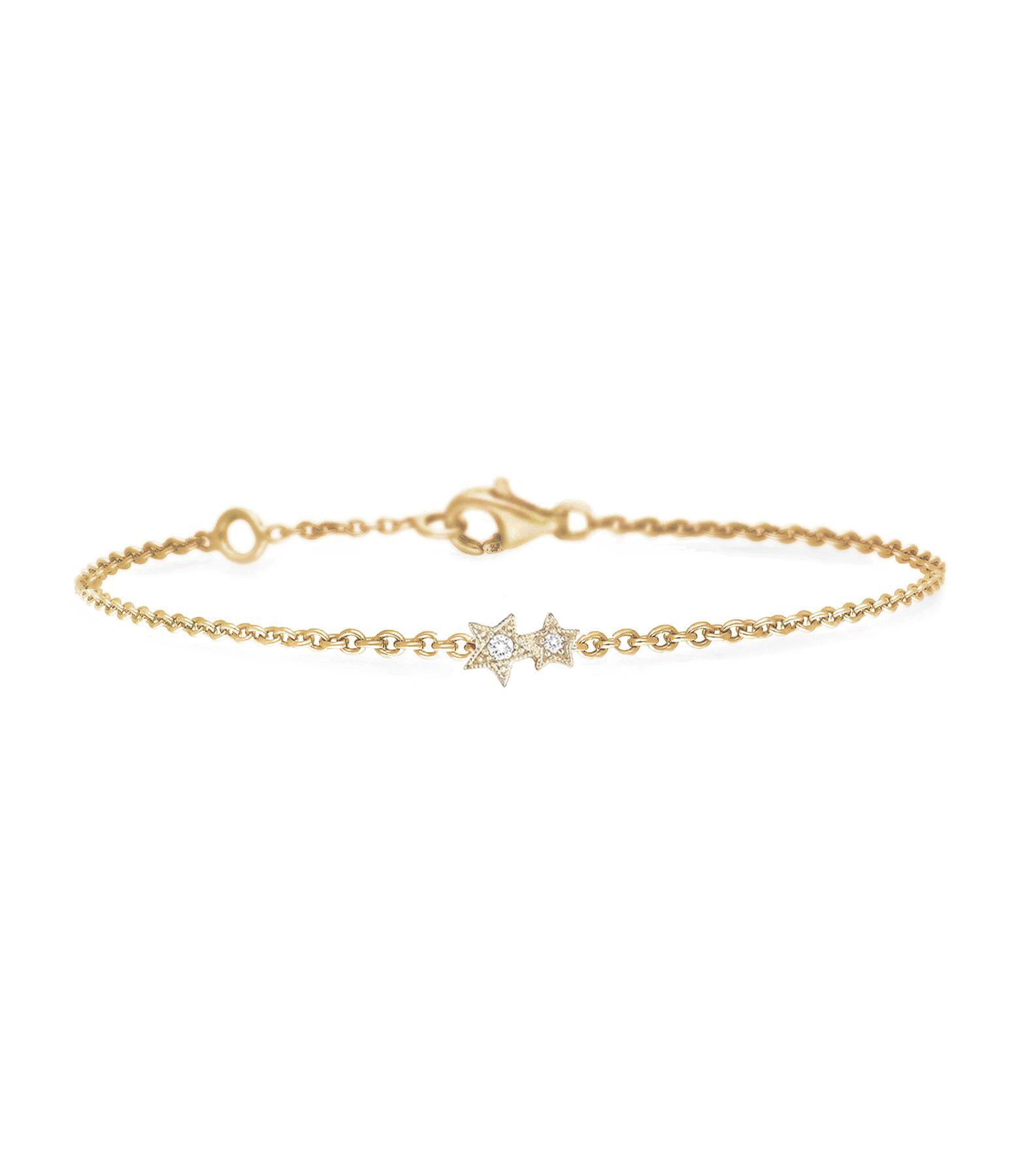 Bracelet Stardust  Or Diamants - Stone